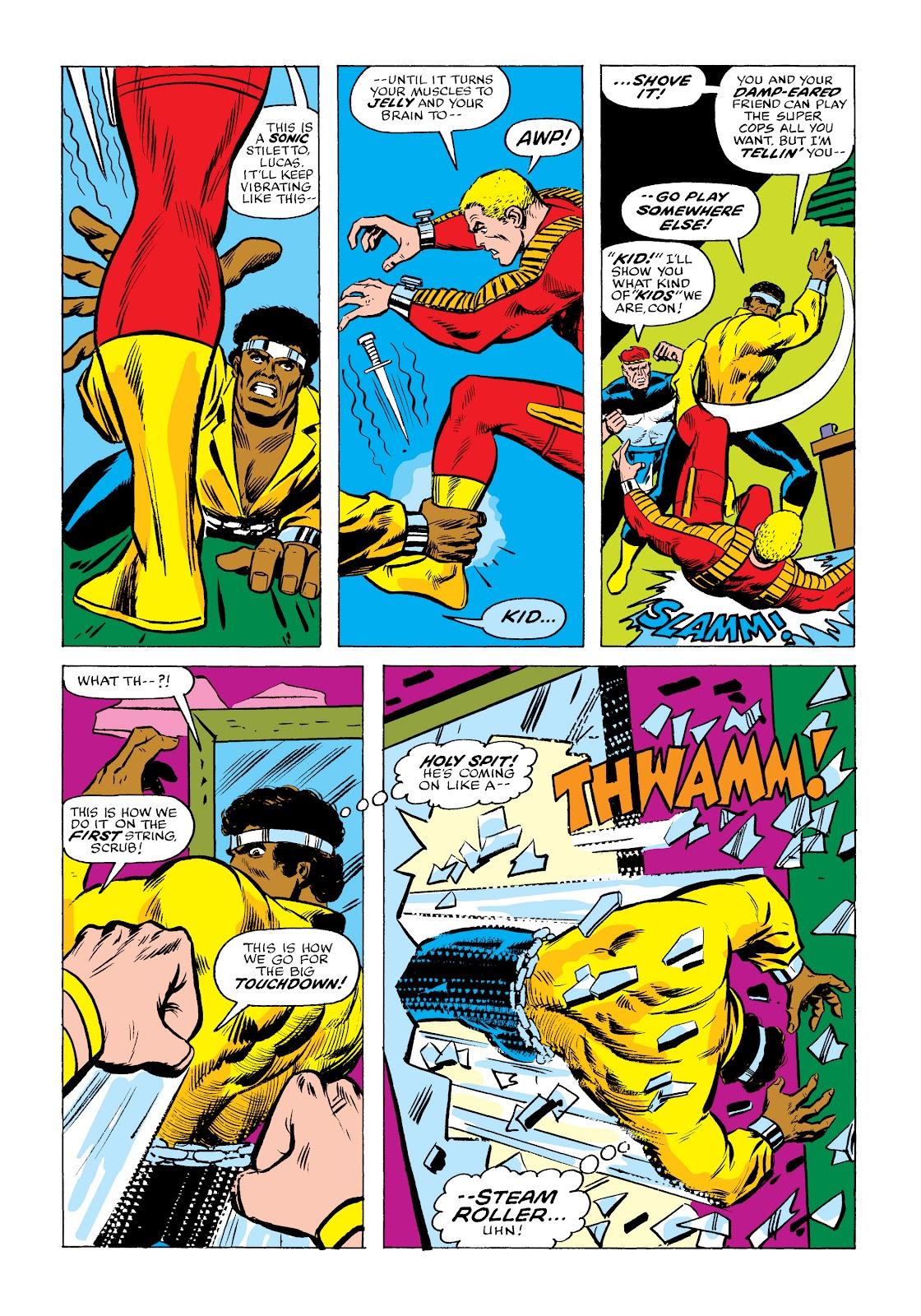 Read online Marvel Masterworks: Luke Cage, Power Man comic -  Issue # TPB 2 (Part 2) - 14