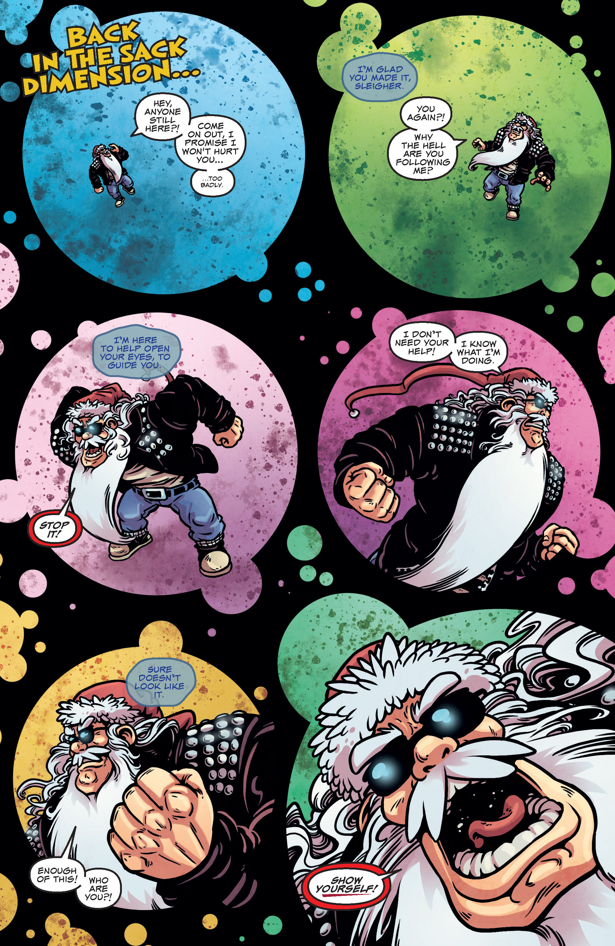 Read online Sleigher comic -  Issue #3 - 12