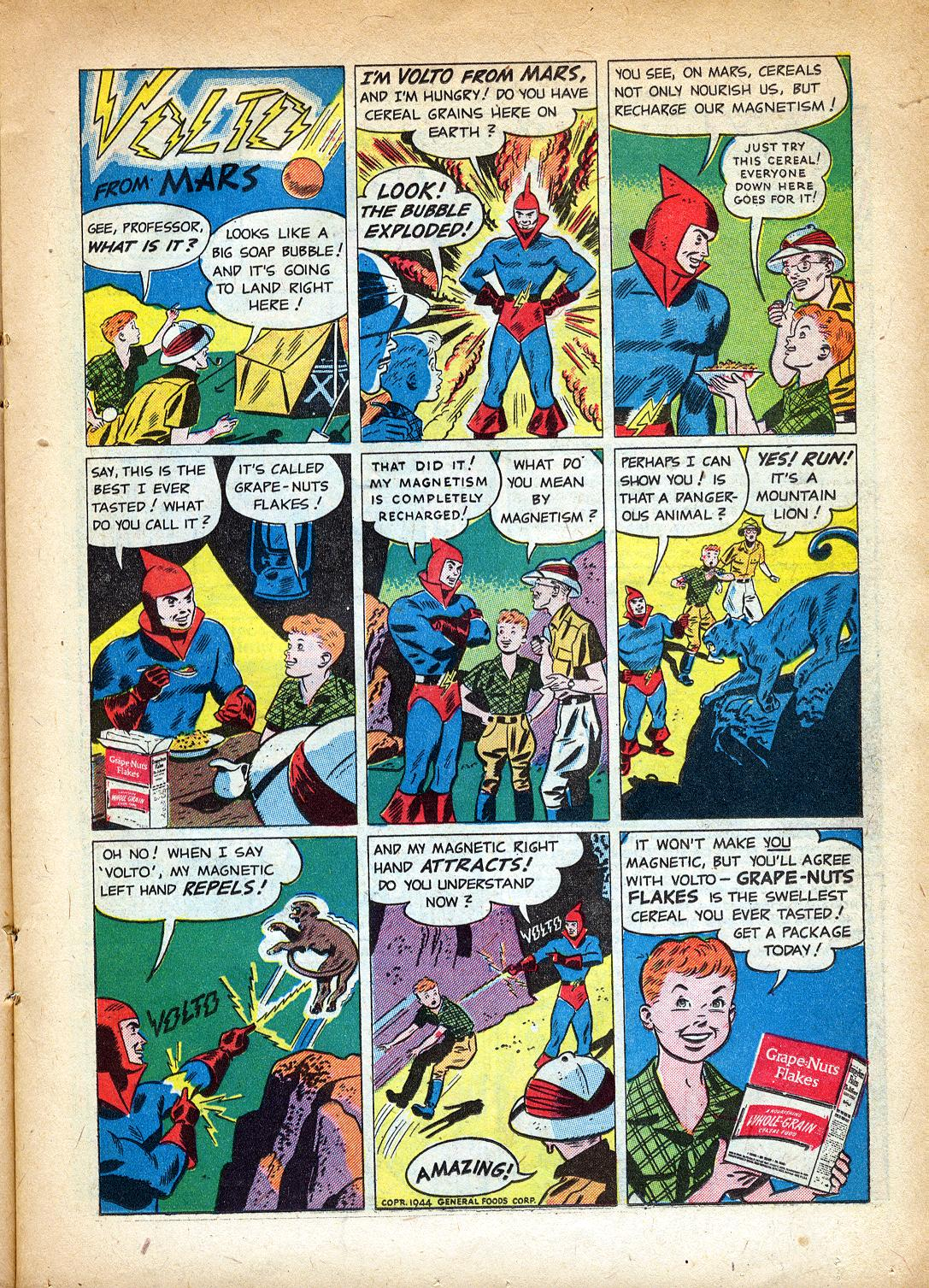 Read online Sensation (Mystery) Comics comic -  Issue #37 - 23