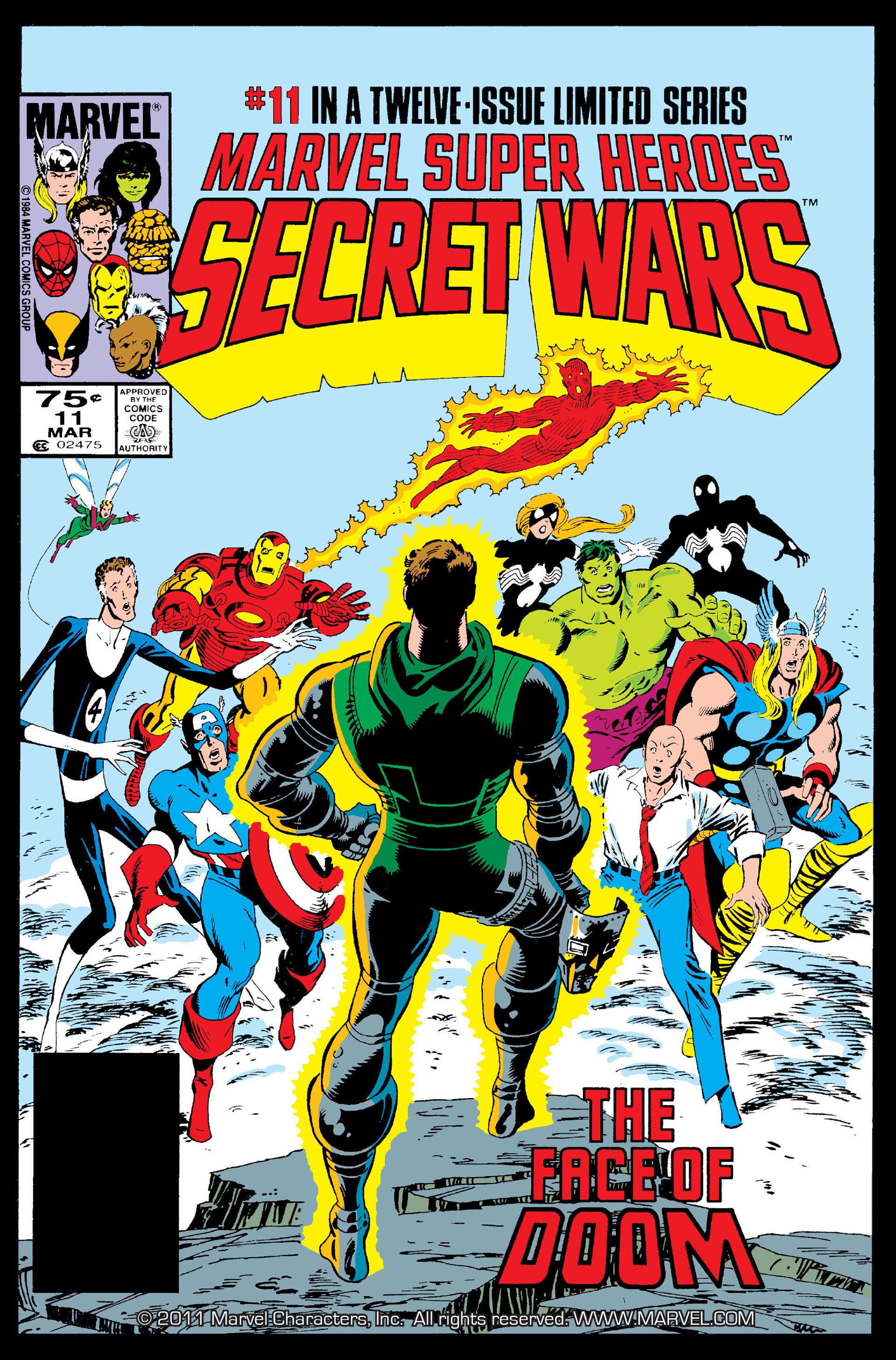 Secret Wars (1985) issue 11 - Page 1