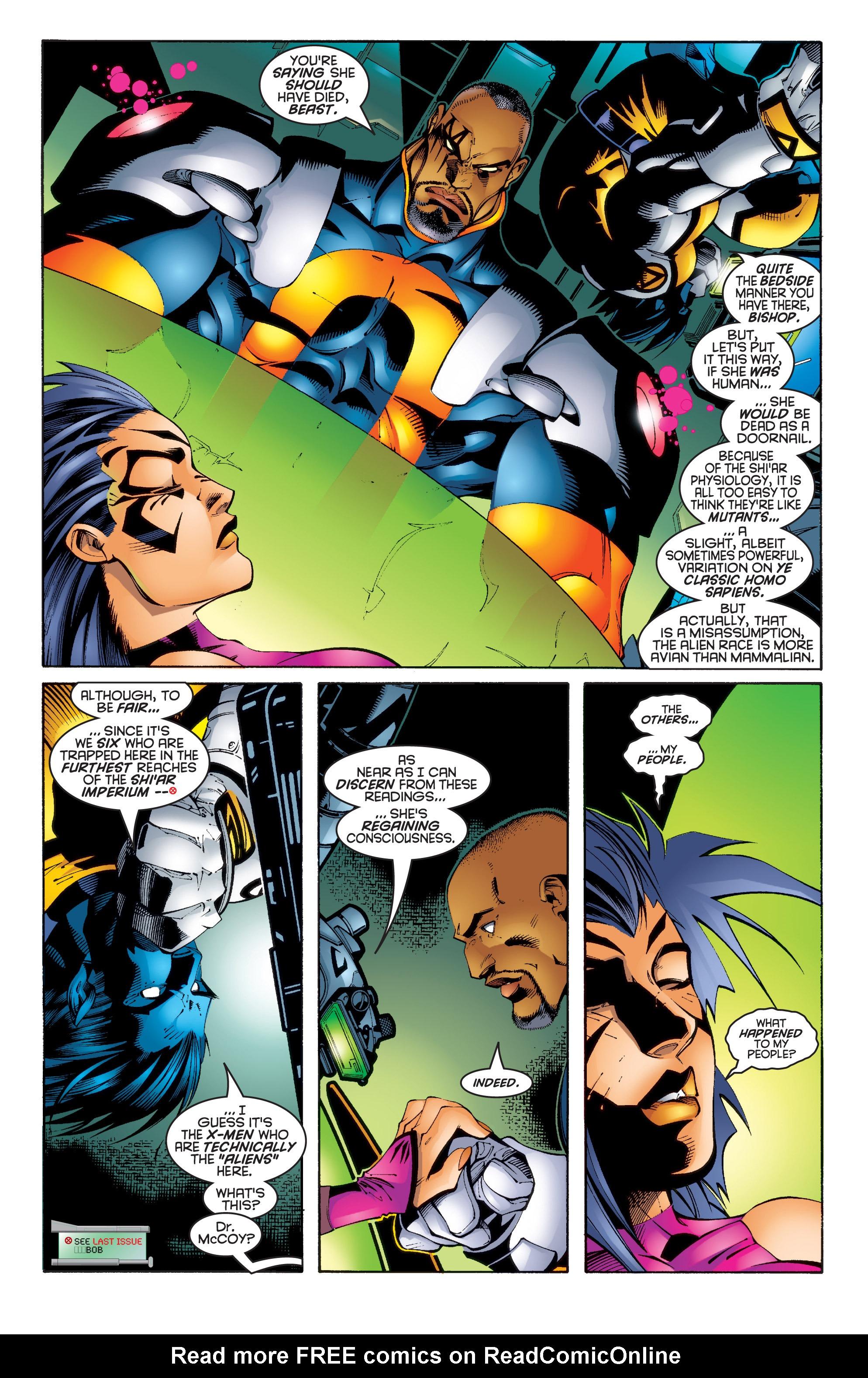 Read online Uncanny X-Men (1963) comic -  Issue #343 - 3