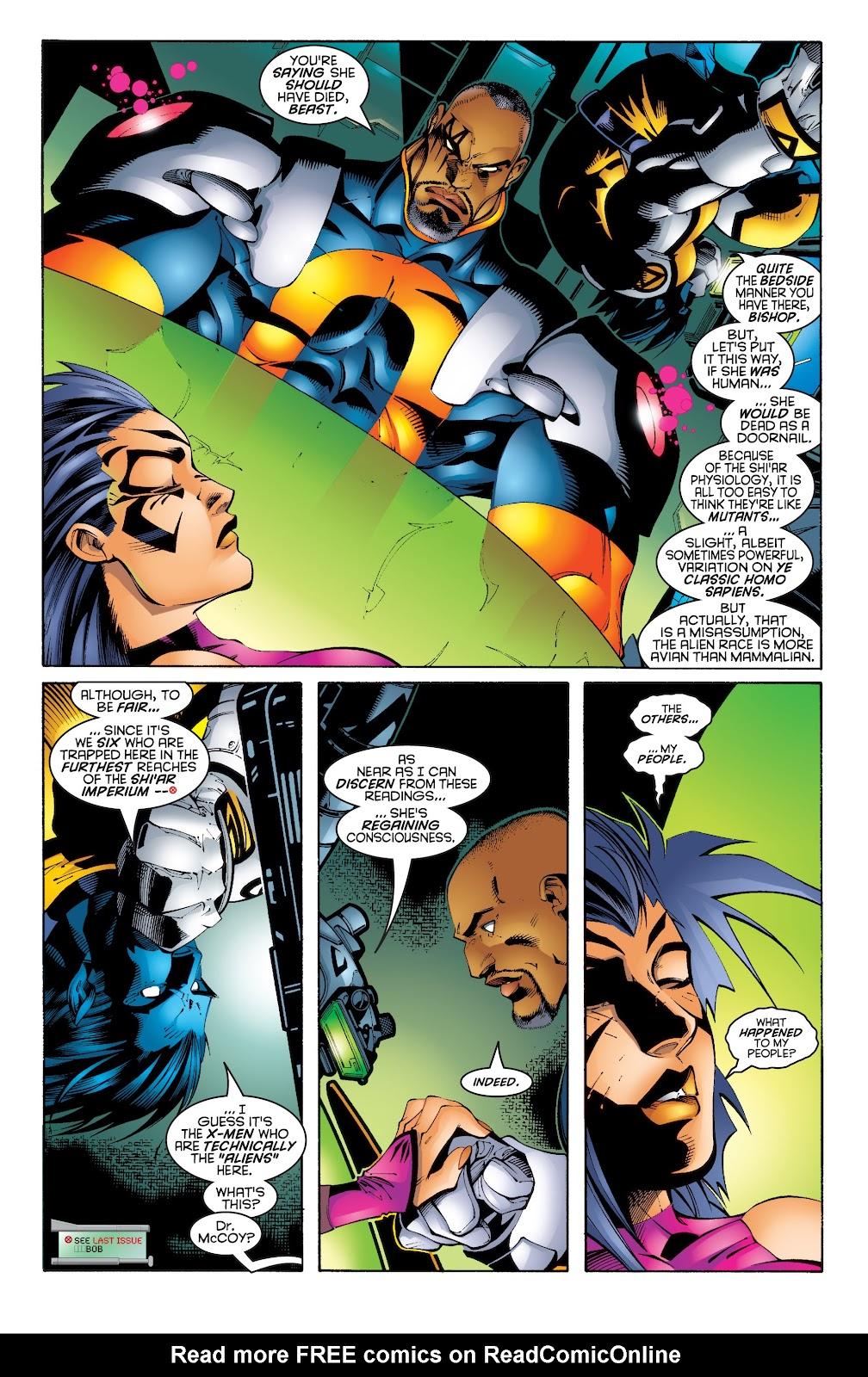 Uncanny X-Men (1963) issue 343 - Page 3