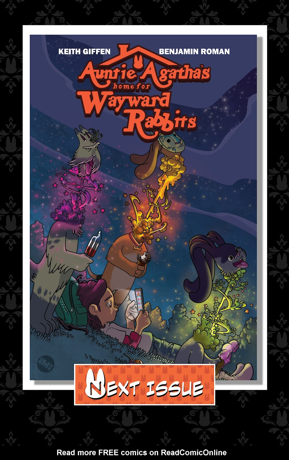 Read online Auntie Agatha's Home For Wayward Rabbits comic -  Issue #5 - 24