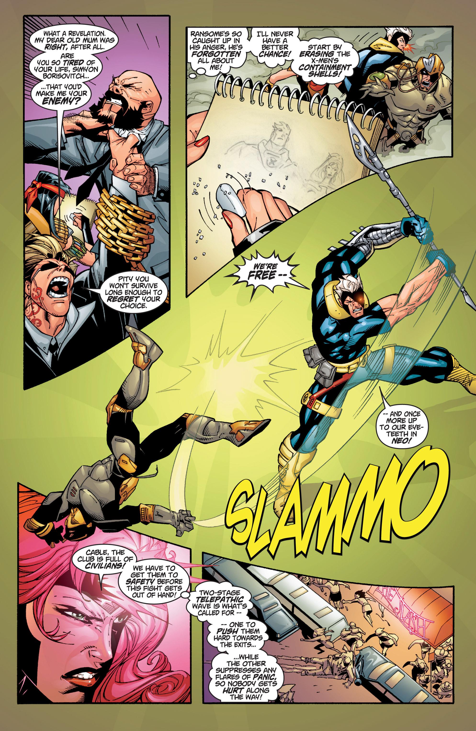 Read online Uncanny X-Men (1963) comic -  Issue #383 - 25