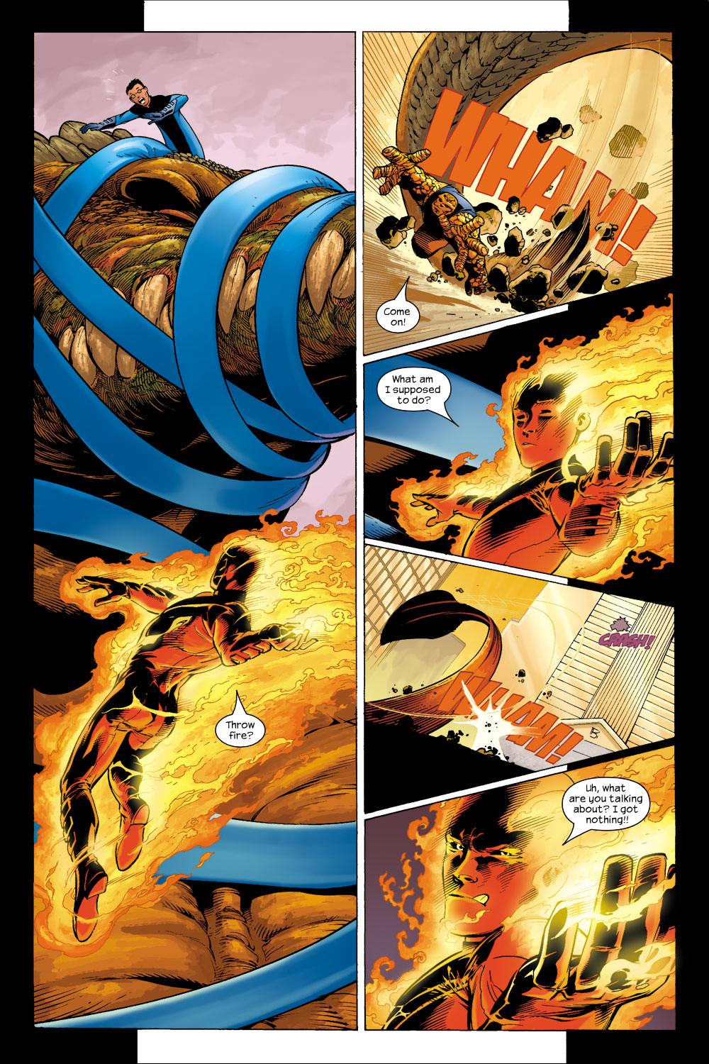 Read online Ultimate Fantastic Four (2004) comic -  Issue #5 - 7