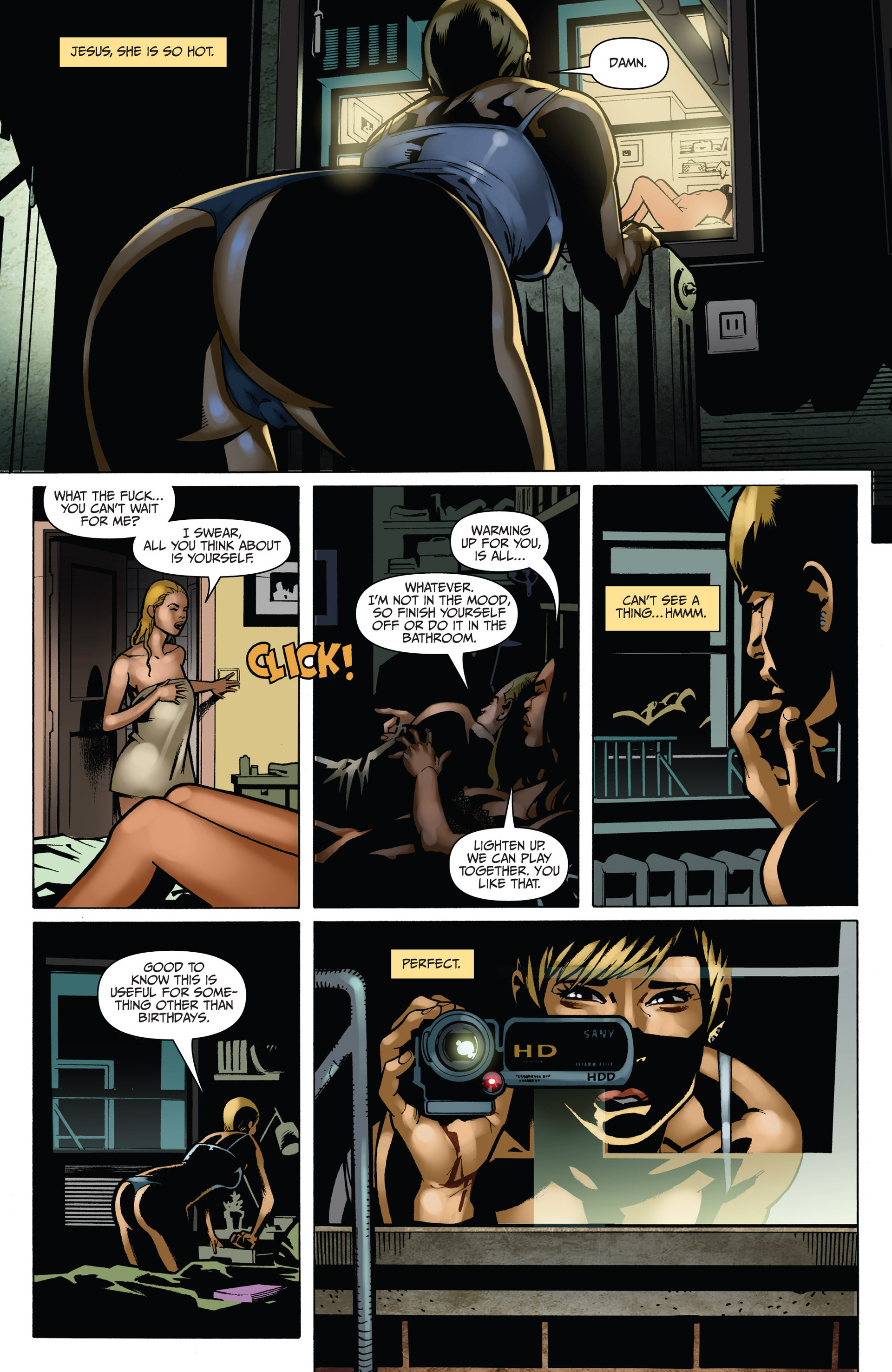 Read online Sex and Violence comic -  Issue # Full - 42