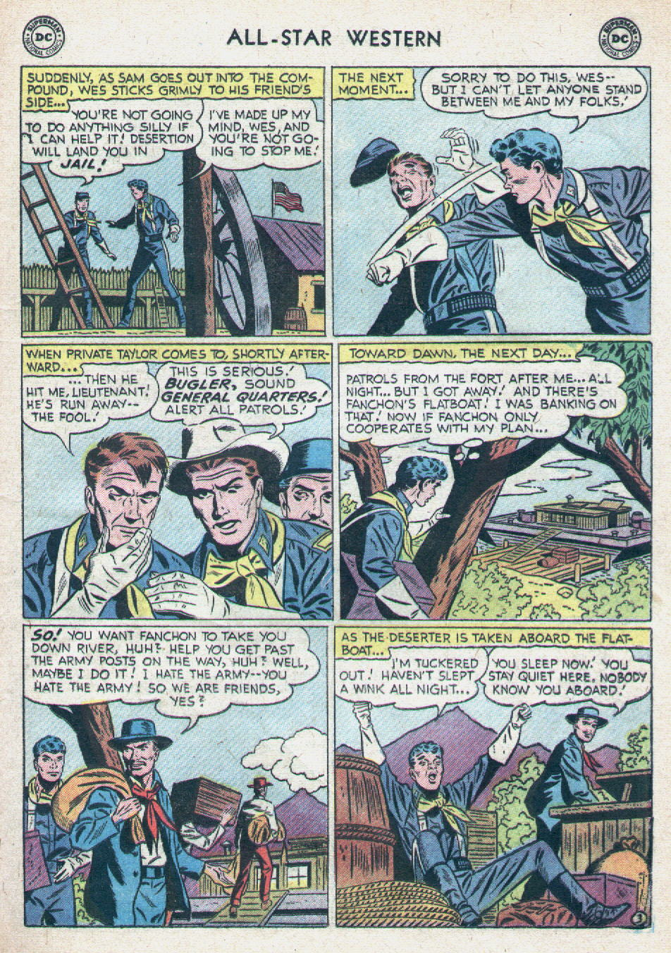 Read online All-Star Western (1951) comic -  Issue #90 - 21
