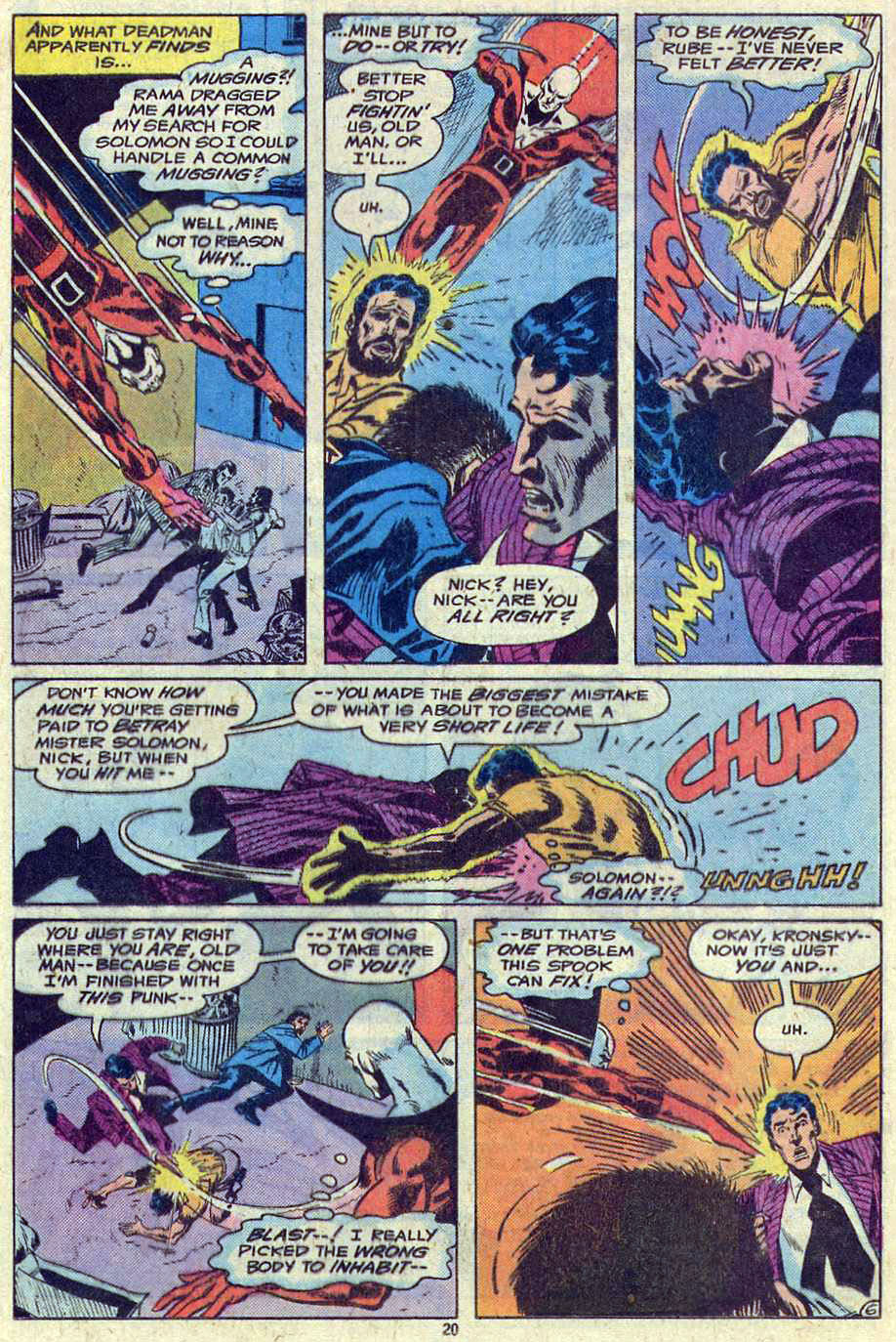 Read online Adventure Comics (1938) comic -  Issue #461 - 20