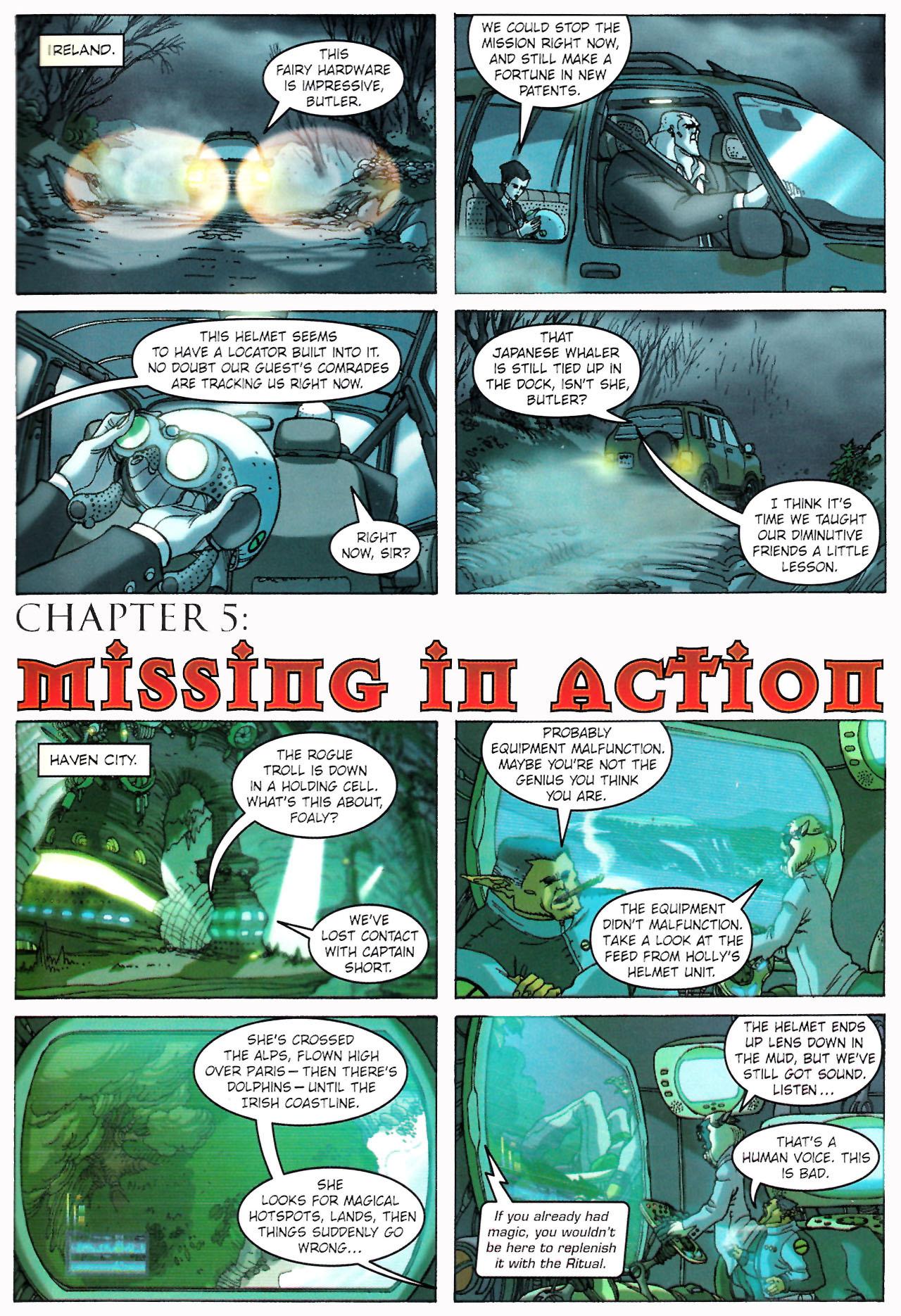 Read online Artemis Fowl: The Graphic Novel comic -  Issue #Artemis Fowl: The Graphic Novel Full - 38