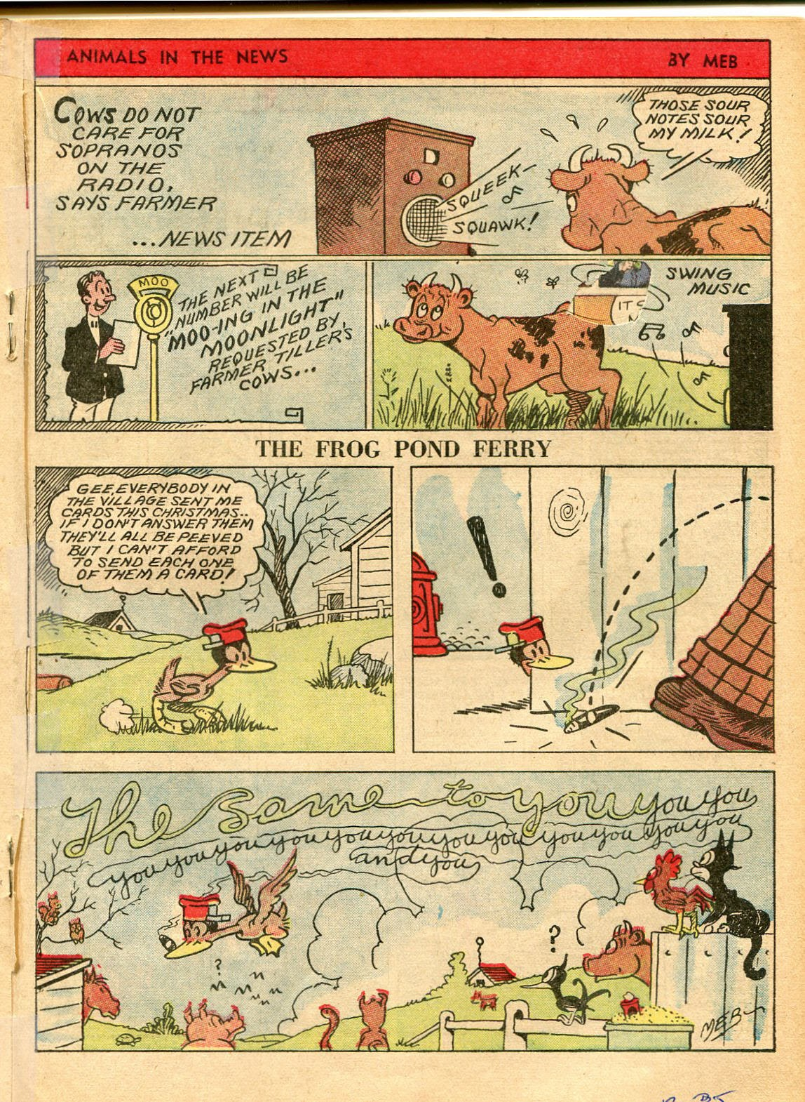 Read online Famous Funnies comic -  Issue #42 - 34