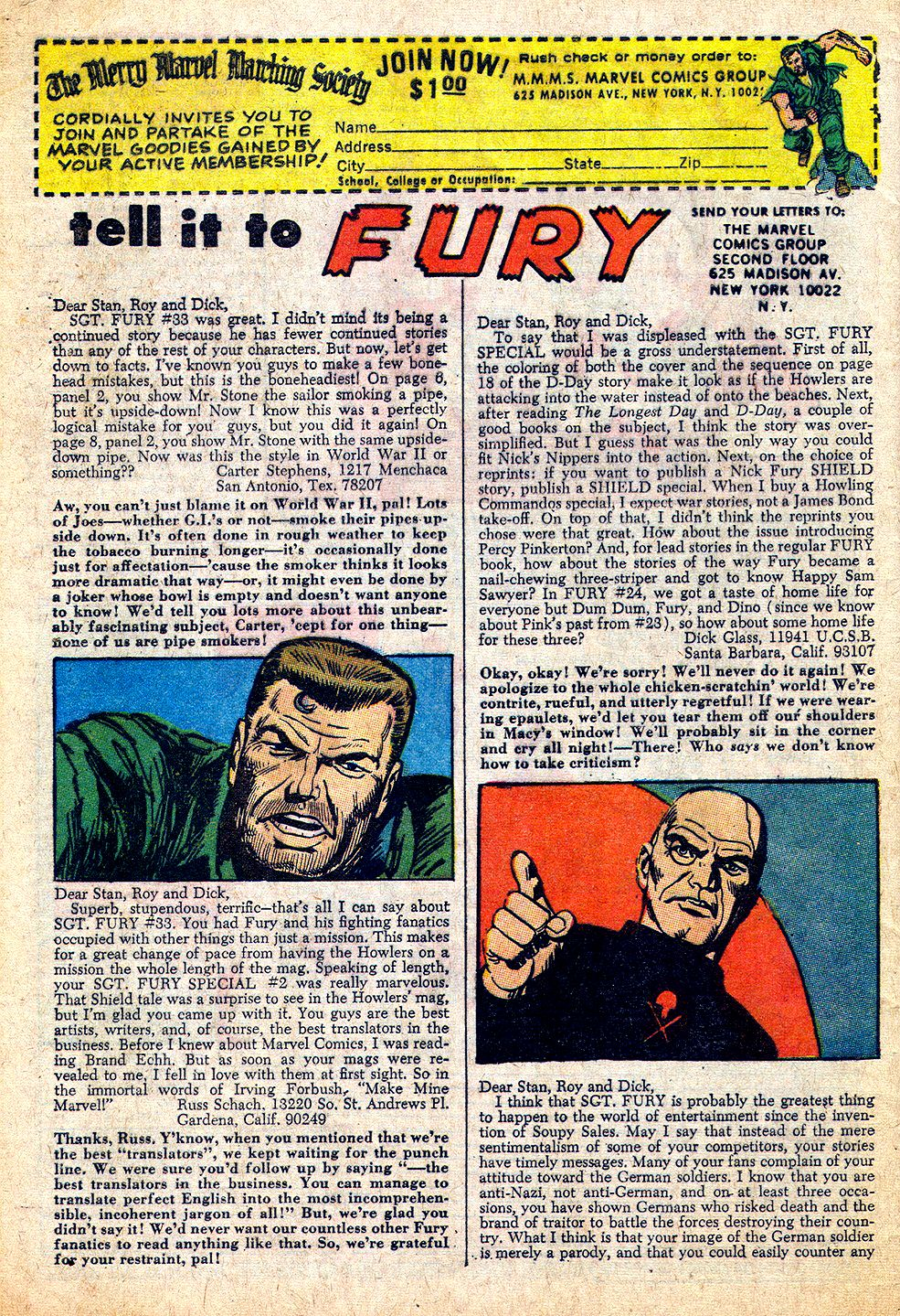 Read online Sgt. Fury comic -  Issue #37 - 32