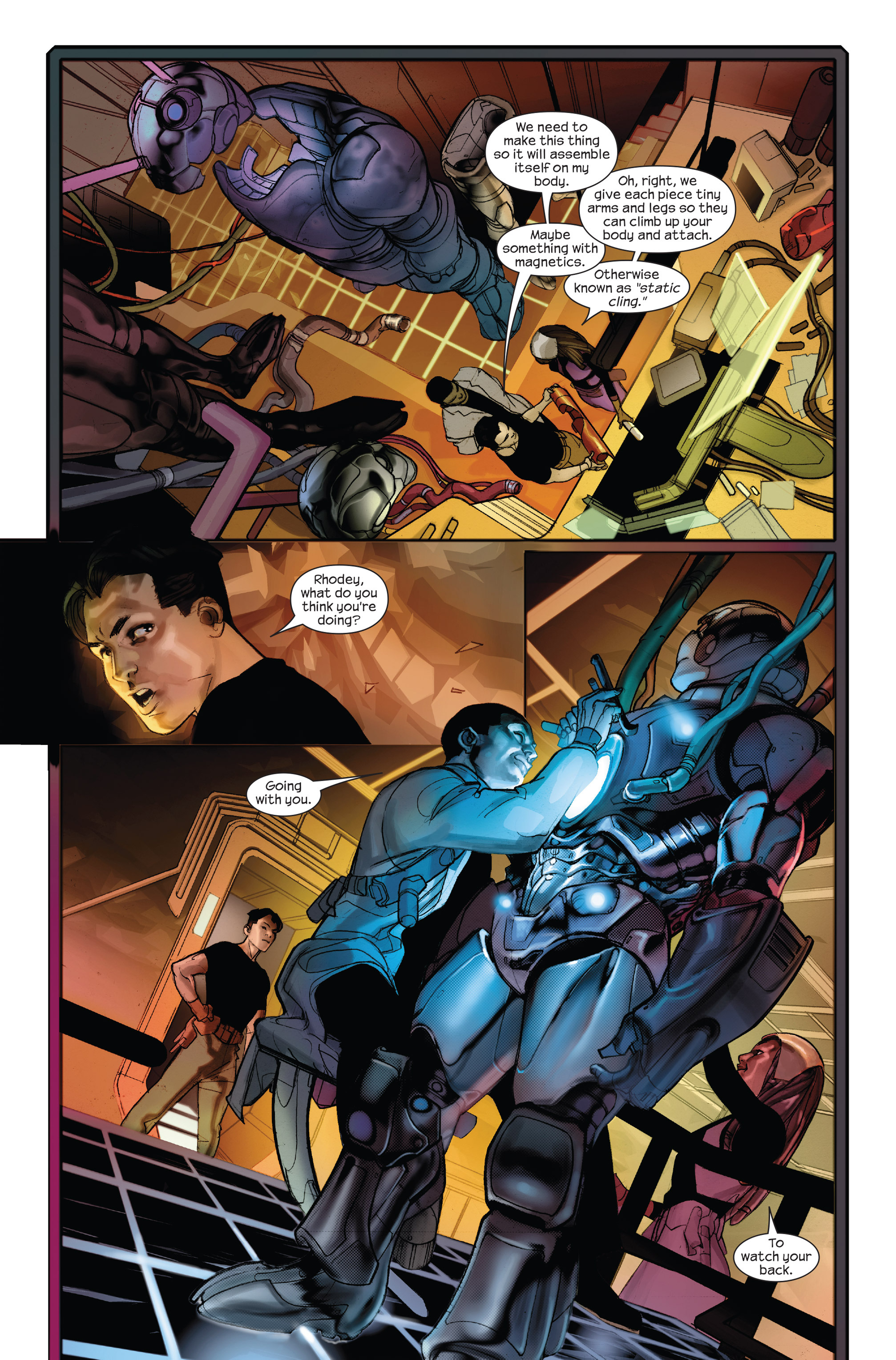 Read online Ultimate Iron Man II comic -  Issue #1 - 13