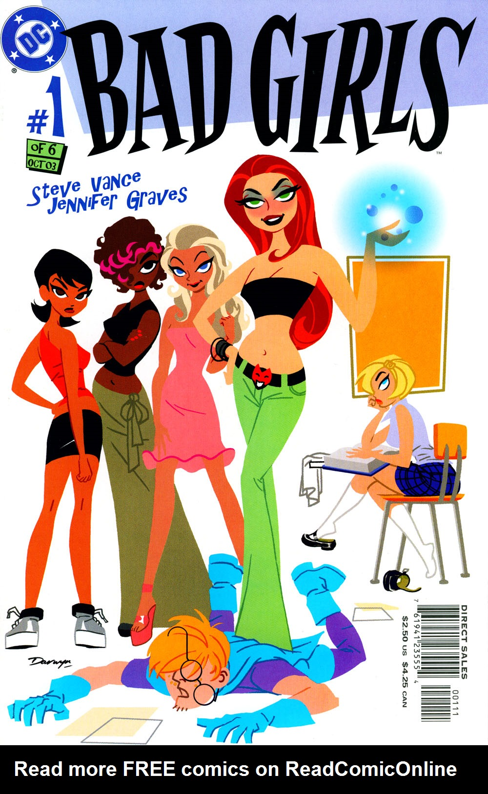 Read online Bad Girls comic -  Issue #1 - 1