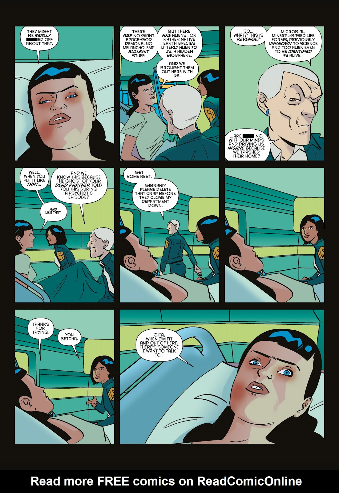 Read online Brink comic -  Issue # TPB 3 - 98