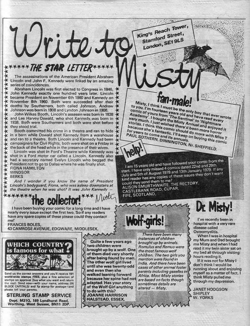 Read online Misty comic -  Issue #78 - 26