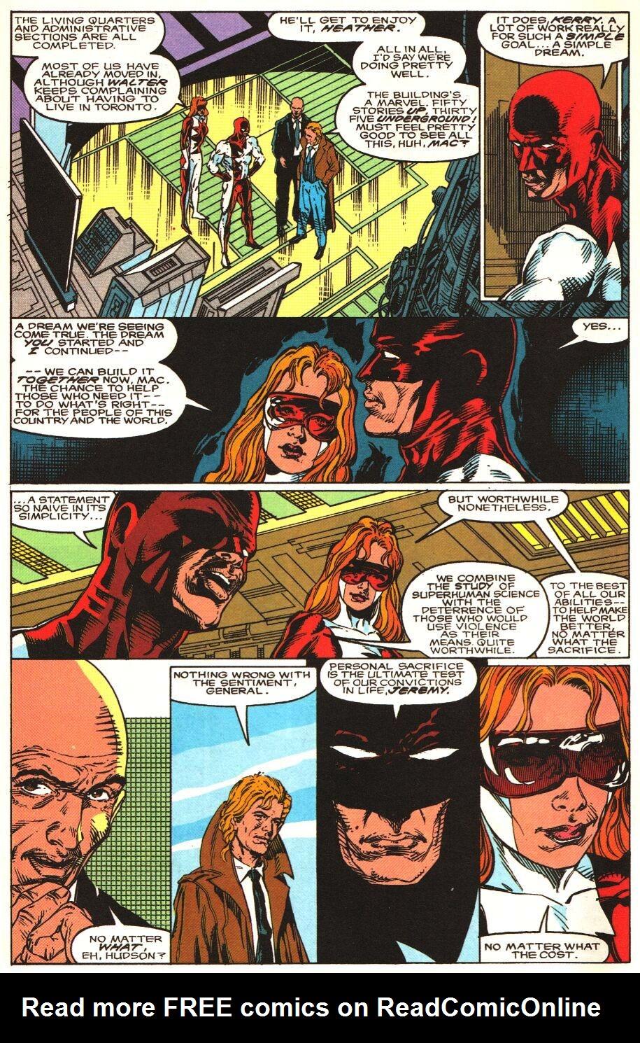 Read online Alpha Flight Special comic -  Issue #1 - 5