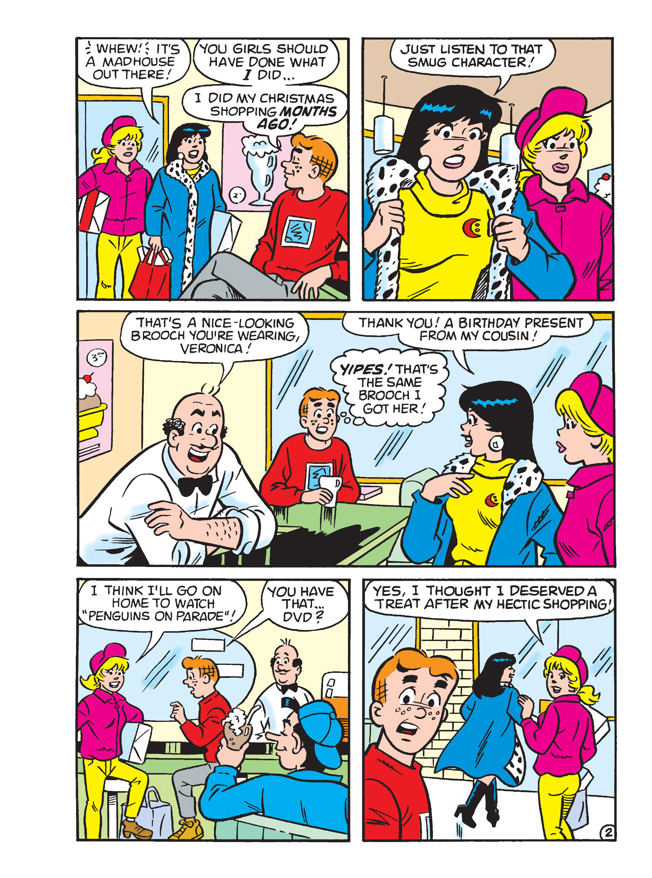 Read online Archie's Funhouse Double Digest comic -  Issue #23 - 8
