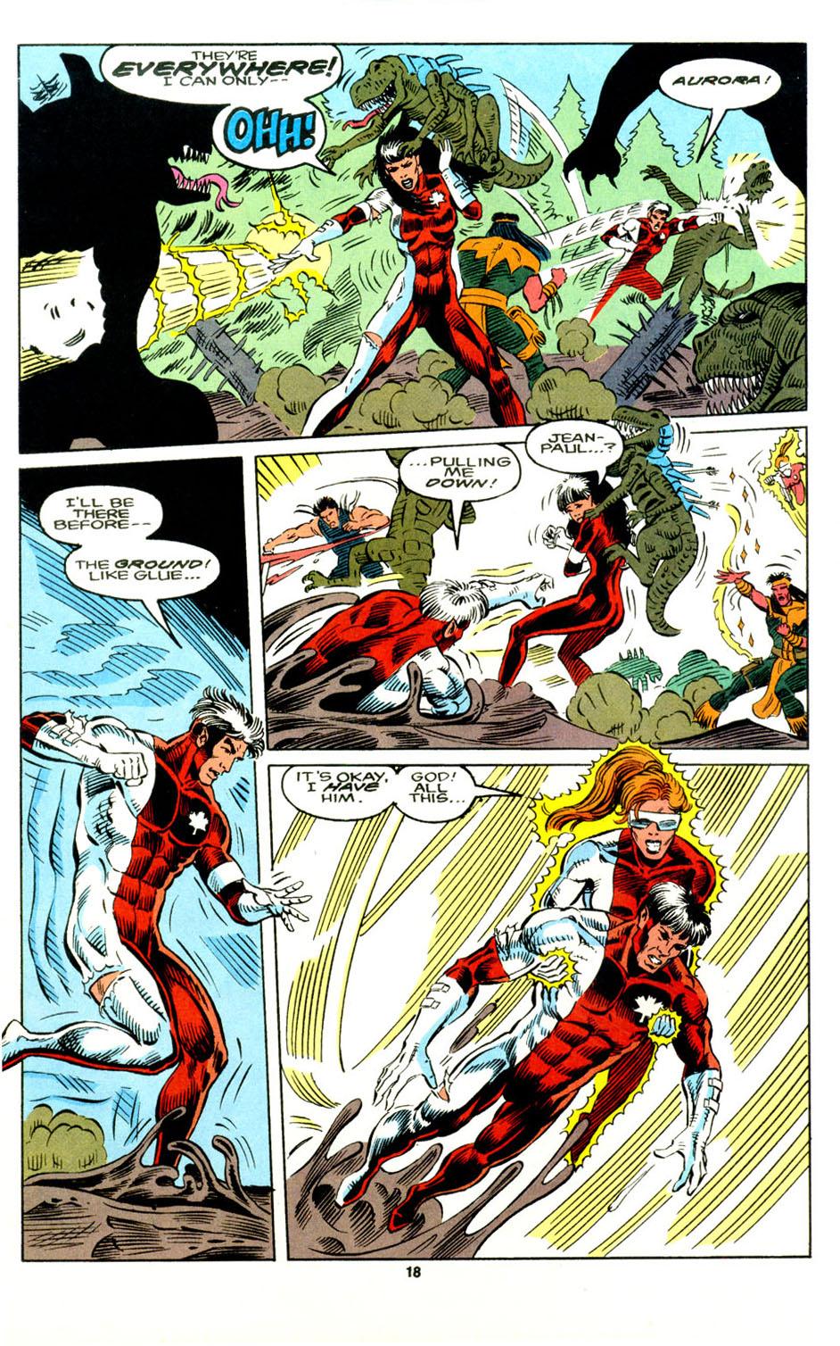 Read online Alpha Flight (1983) comic -  Issue #129 - 15
