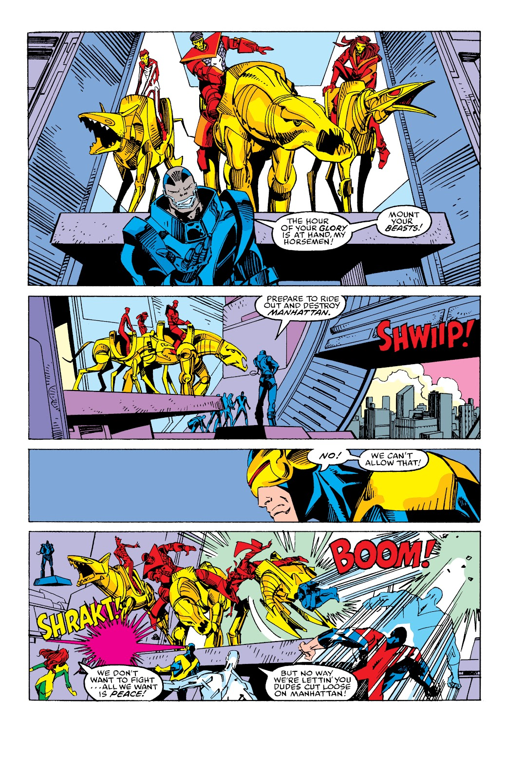 Read online X-Men Milestones: Fall of the Mutants comic -  Issue # TPB (Part 2) - 89
