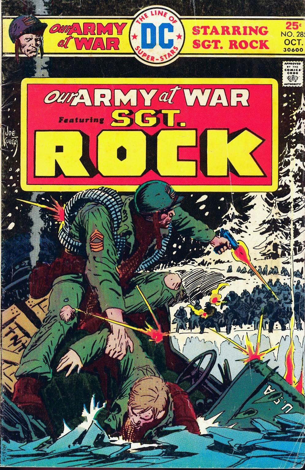 Our Army at War (1952) issue 285 - Page 1