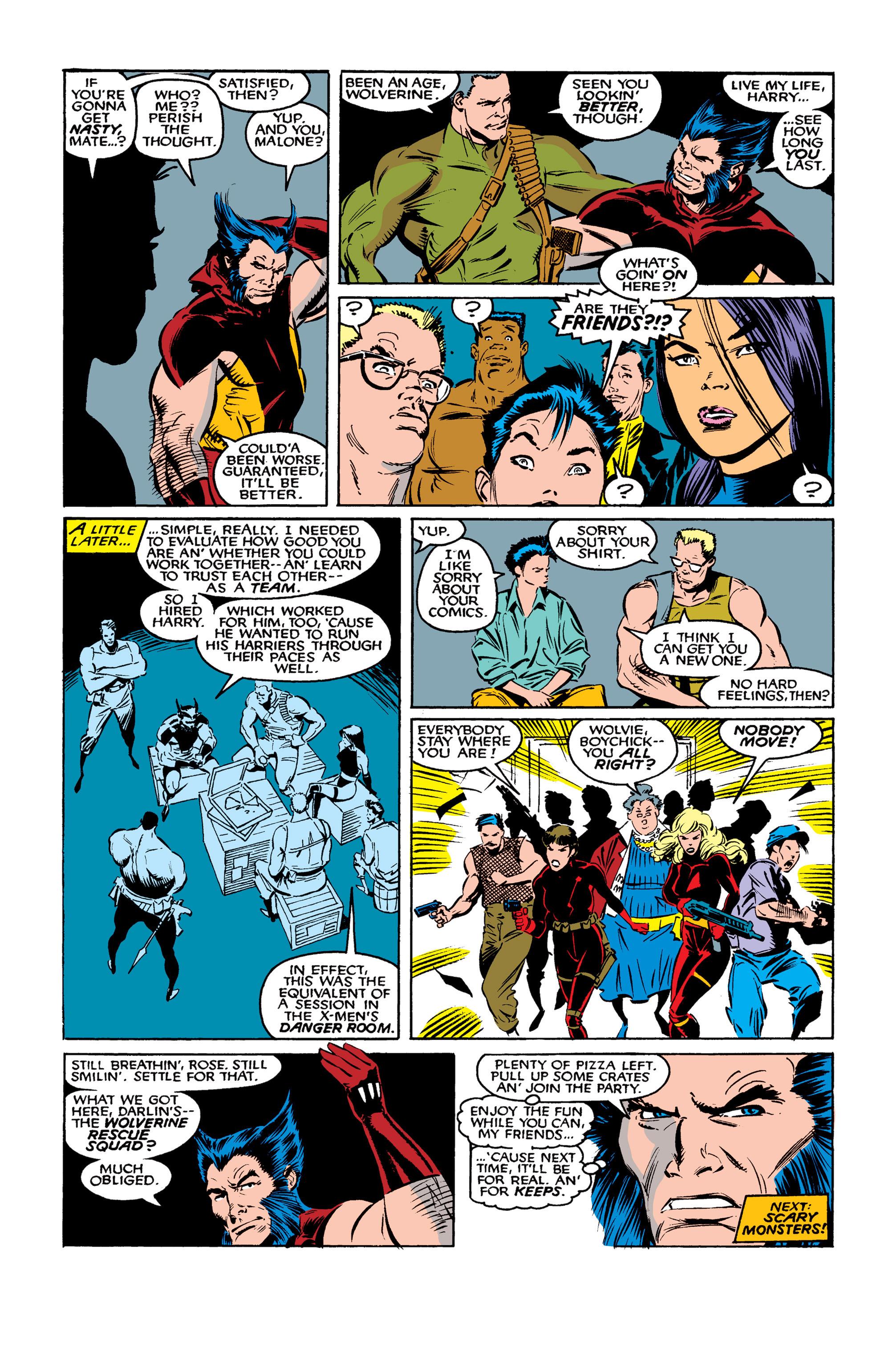 Read online Uncanny X-Men (1963) comic -  Issue #261 - 23