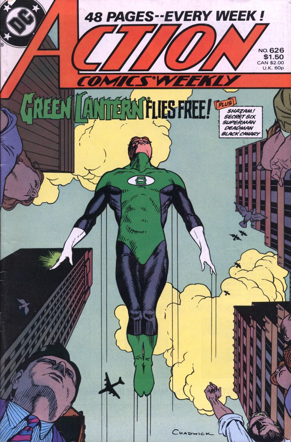 Action Comics (1938) 626 Page 0