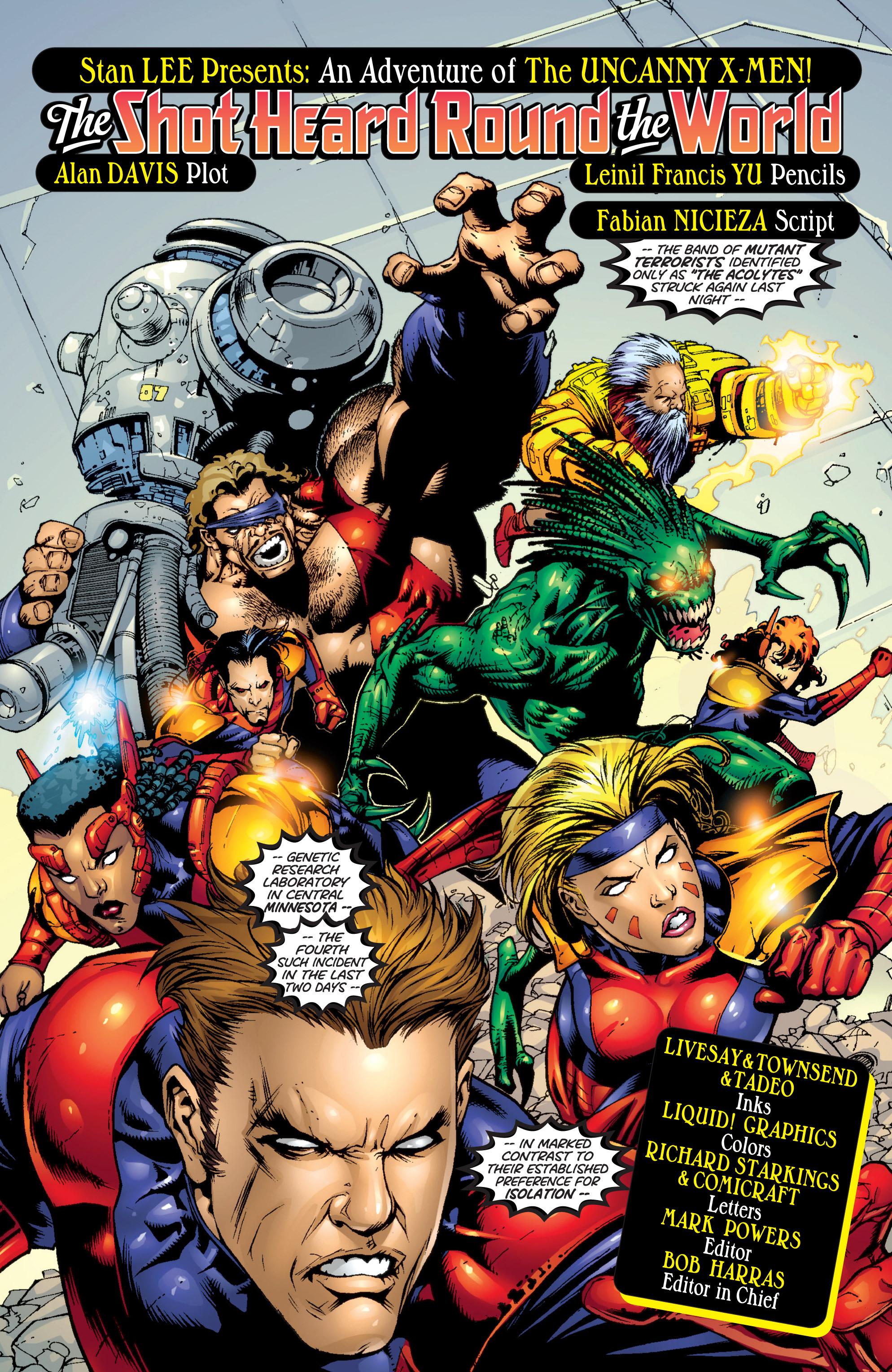 Read online Uncanny X-Men (1963) comic -  Issue #366 - 3