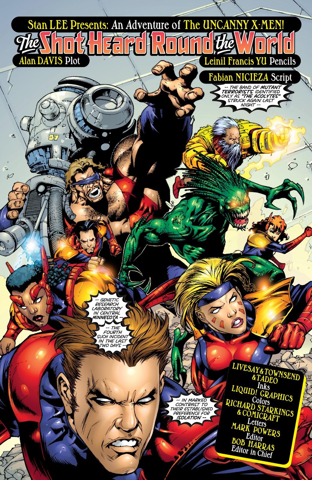 Uncanny X-Men (1963) issue 366 - Page 3