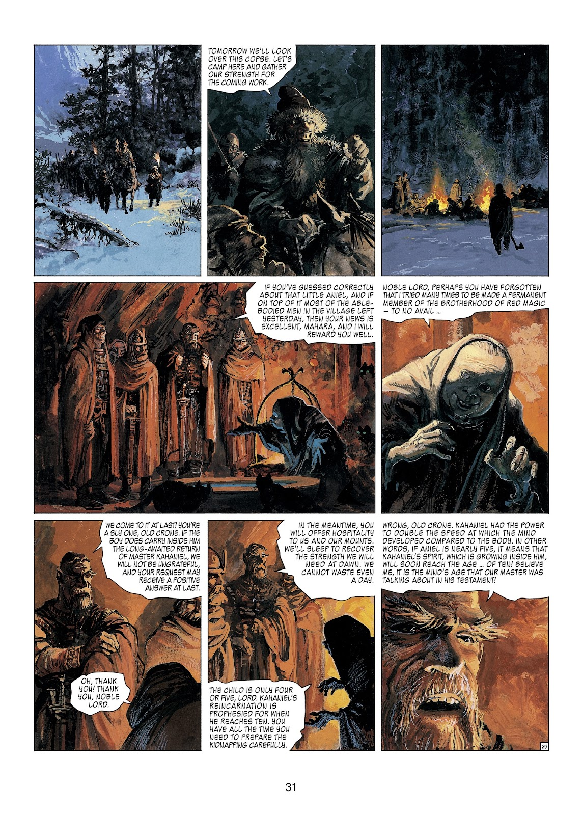 Read online Thorgal comic -  Issue #23 - 33