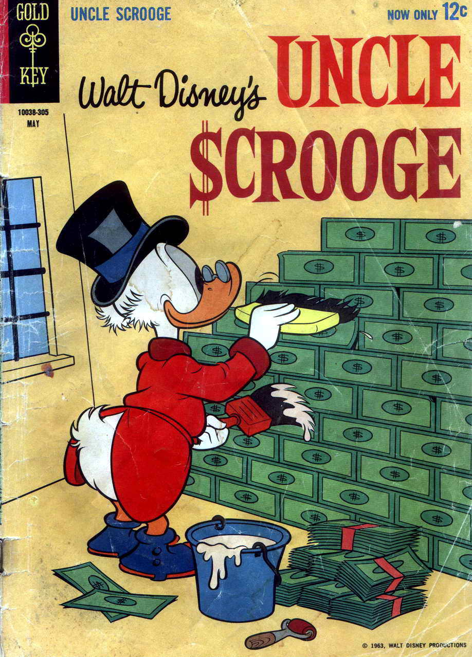 Read online Uncle Scrooge (1953) comic -  Issue #42 - 1