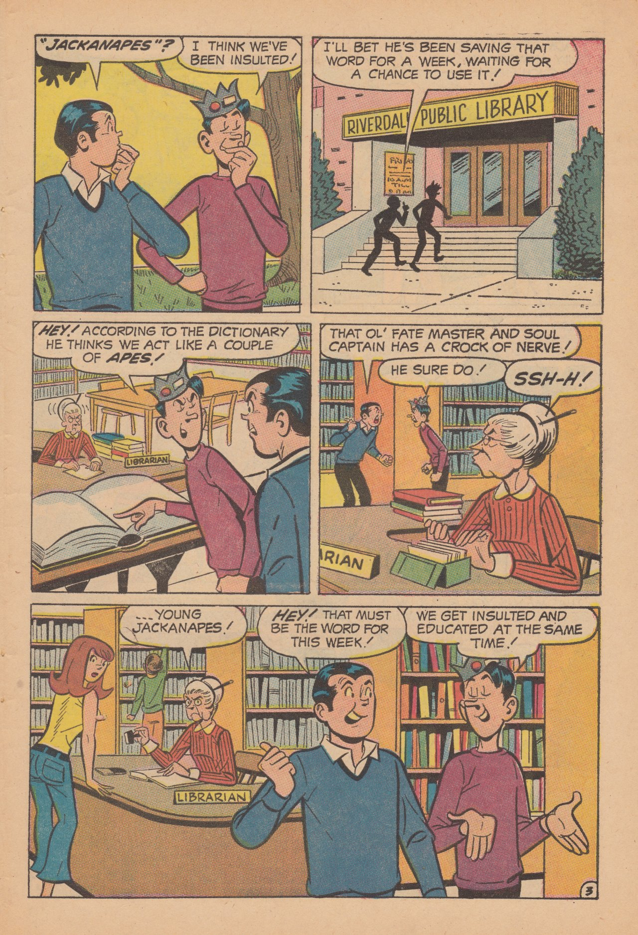 Read online Archie (1960) comic -  Issue #188 - 31