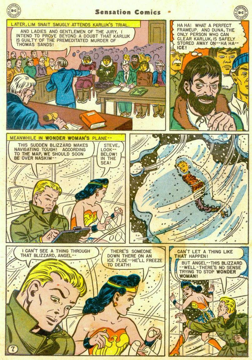Read online Sensation (Mystery) Comics comic -  Issue #65 - 8