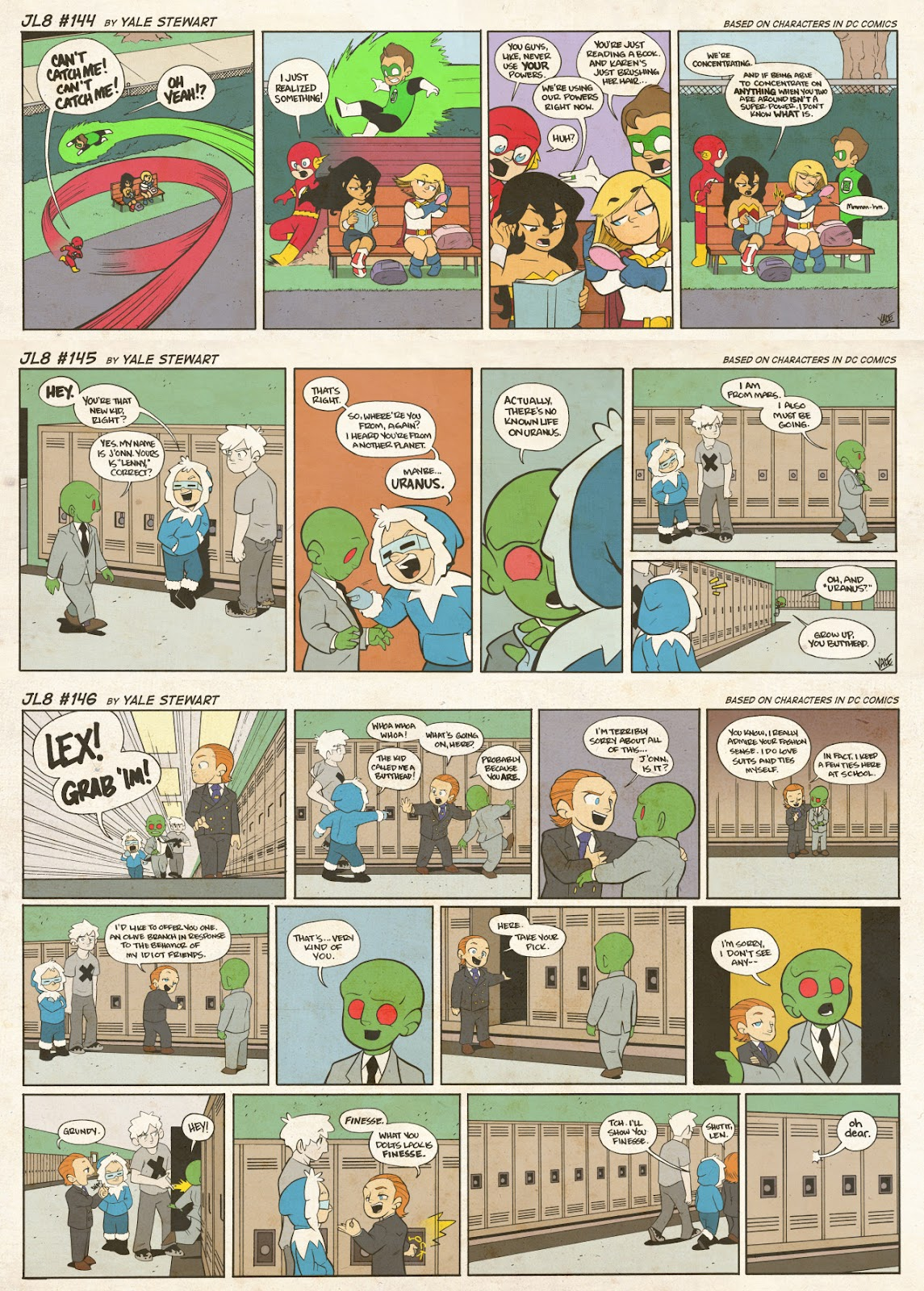 Read online JL8 – The Complete Collection comic -  Issue # TPB (Part 1) - 78