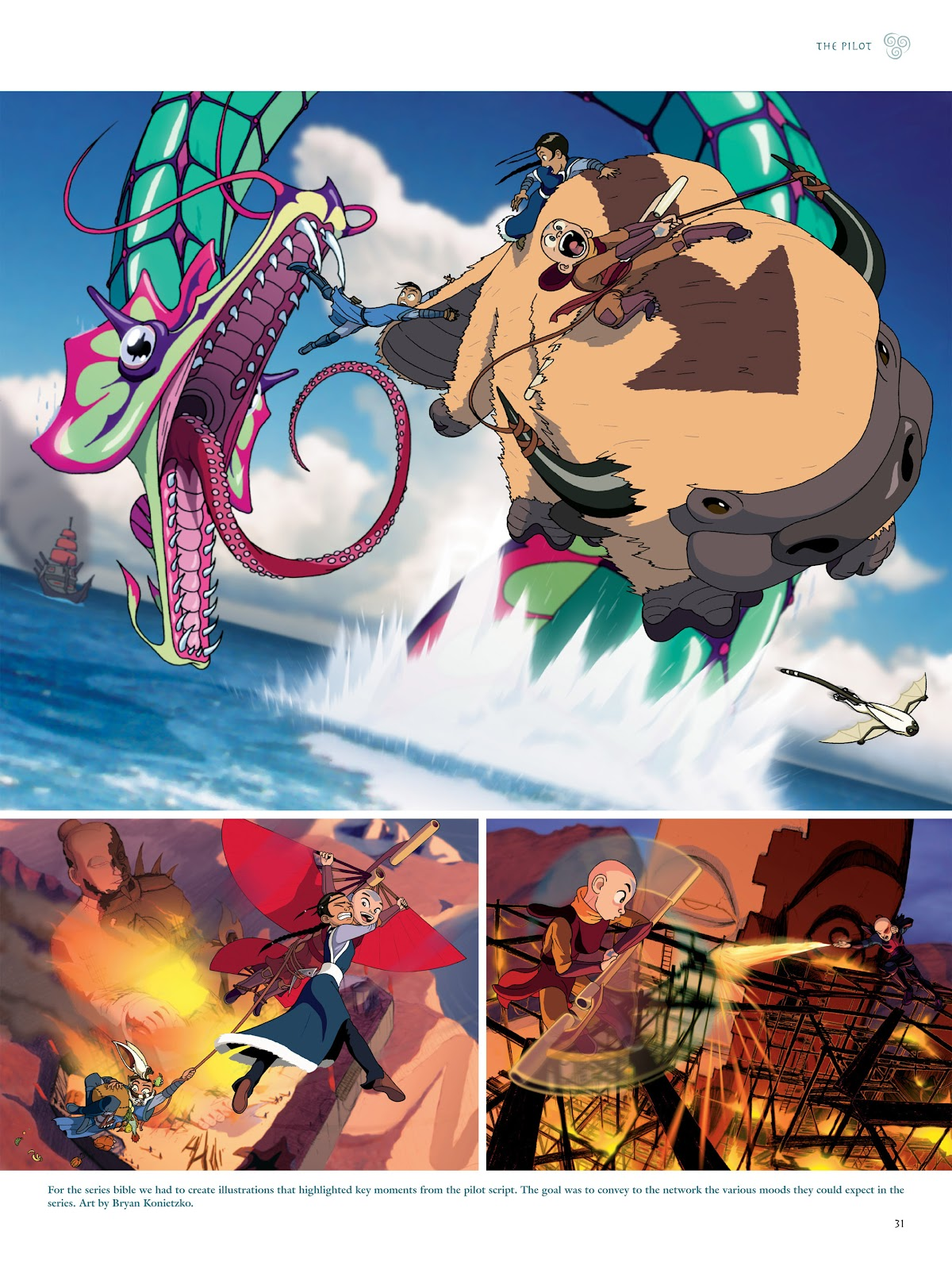 Read online Avatar: The Last Airbender - The Art of the Animated Series comic -  Issue # TPB (Part 1) - 34