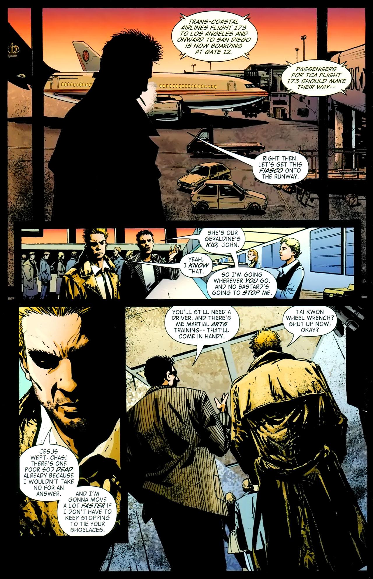 Read online John Constantine Hellblazer: All His Engines comic -  Issue # Full - 32