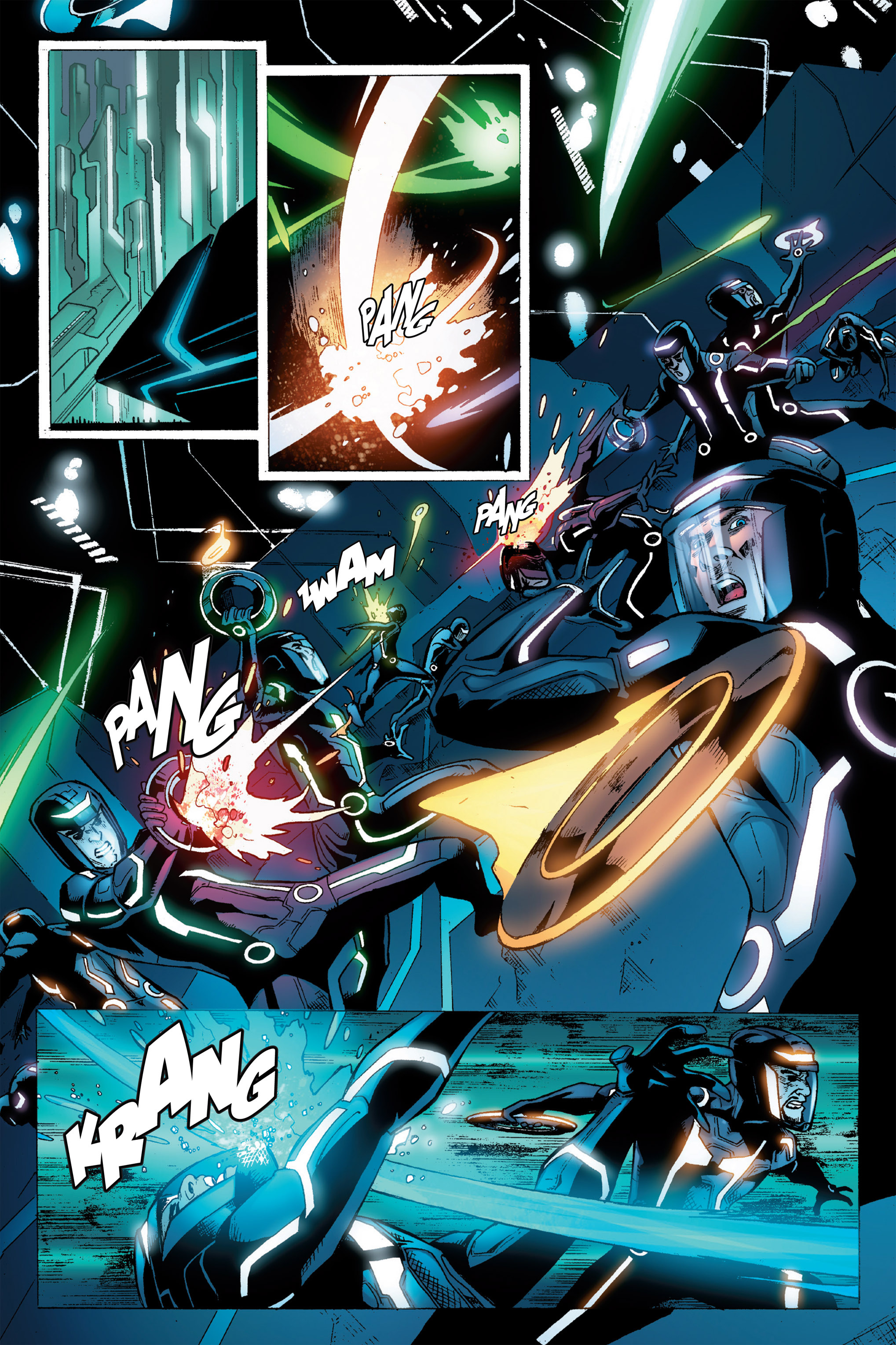 Read online TRON: Betrayal comic -  Issue # TPB - 78