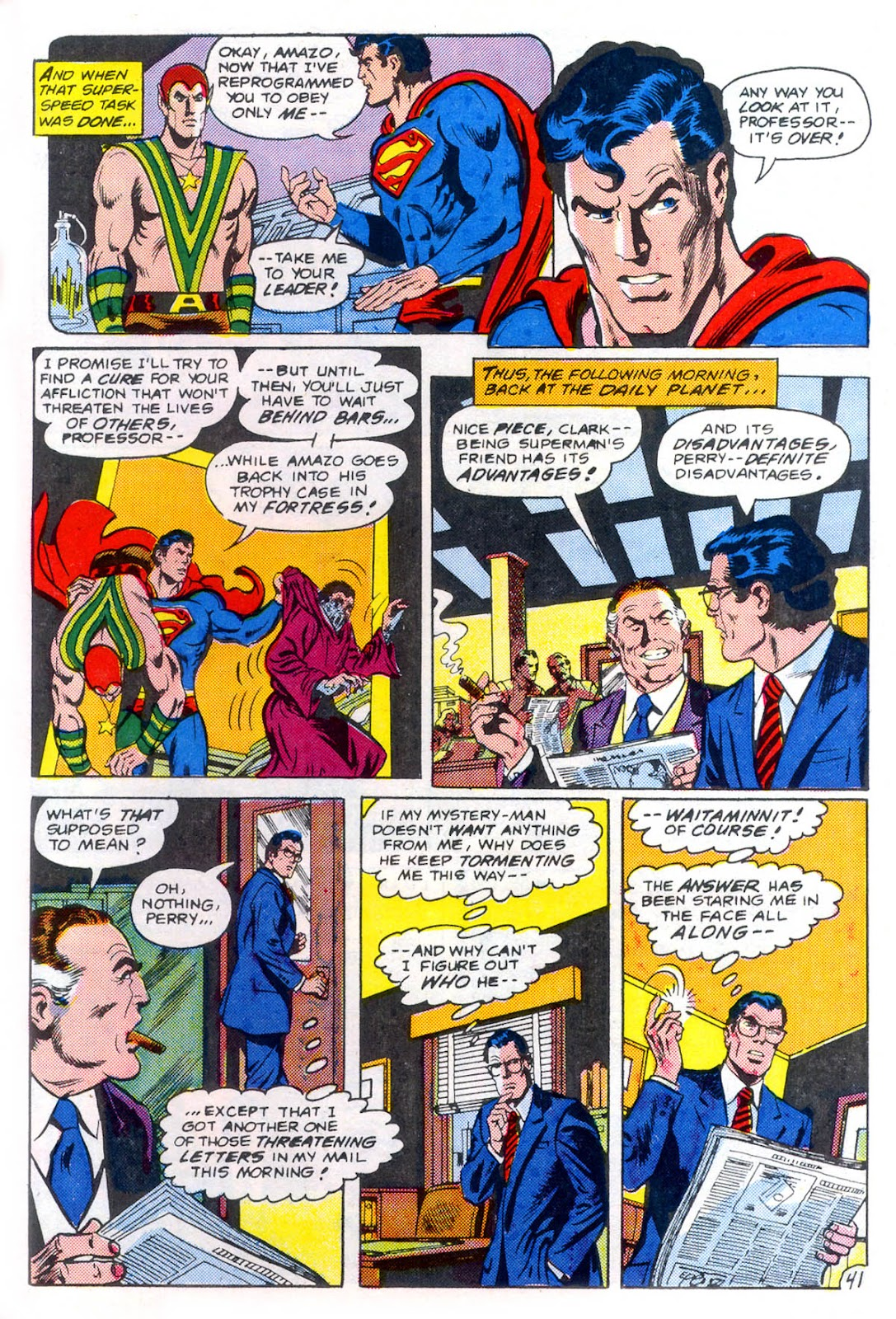 Read online Superman Special (1983) comic -  Issue #3 - 42