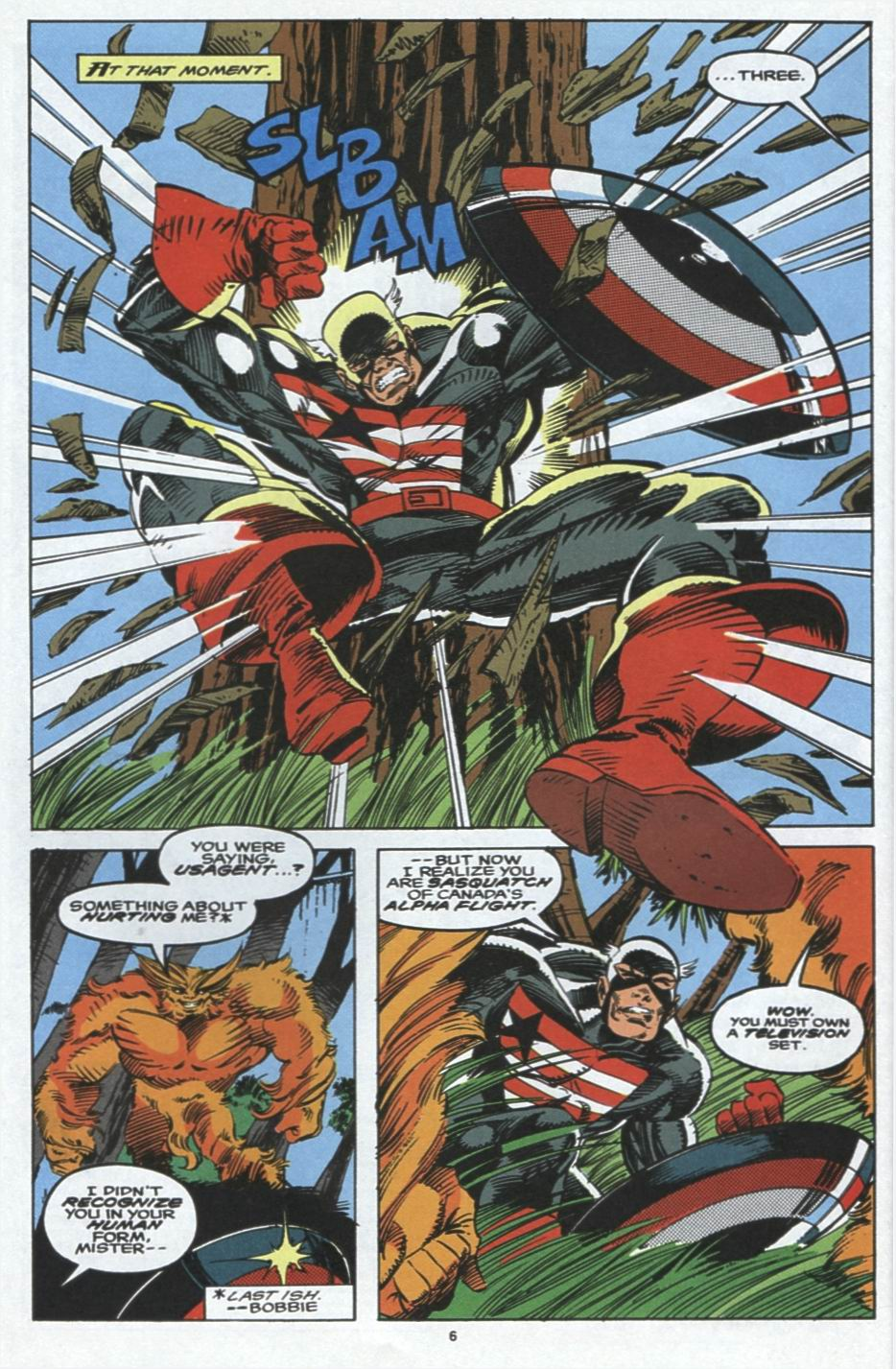 Read online Alpha Flight (1983) comic -  Issue #103 - 6