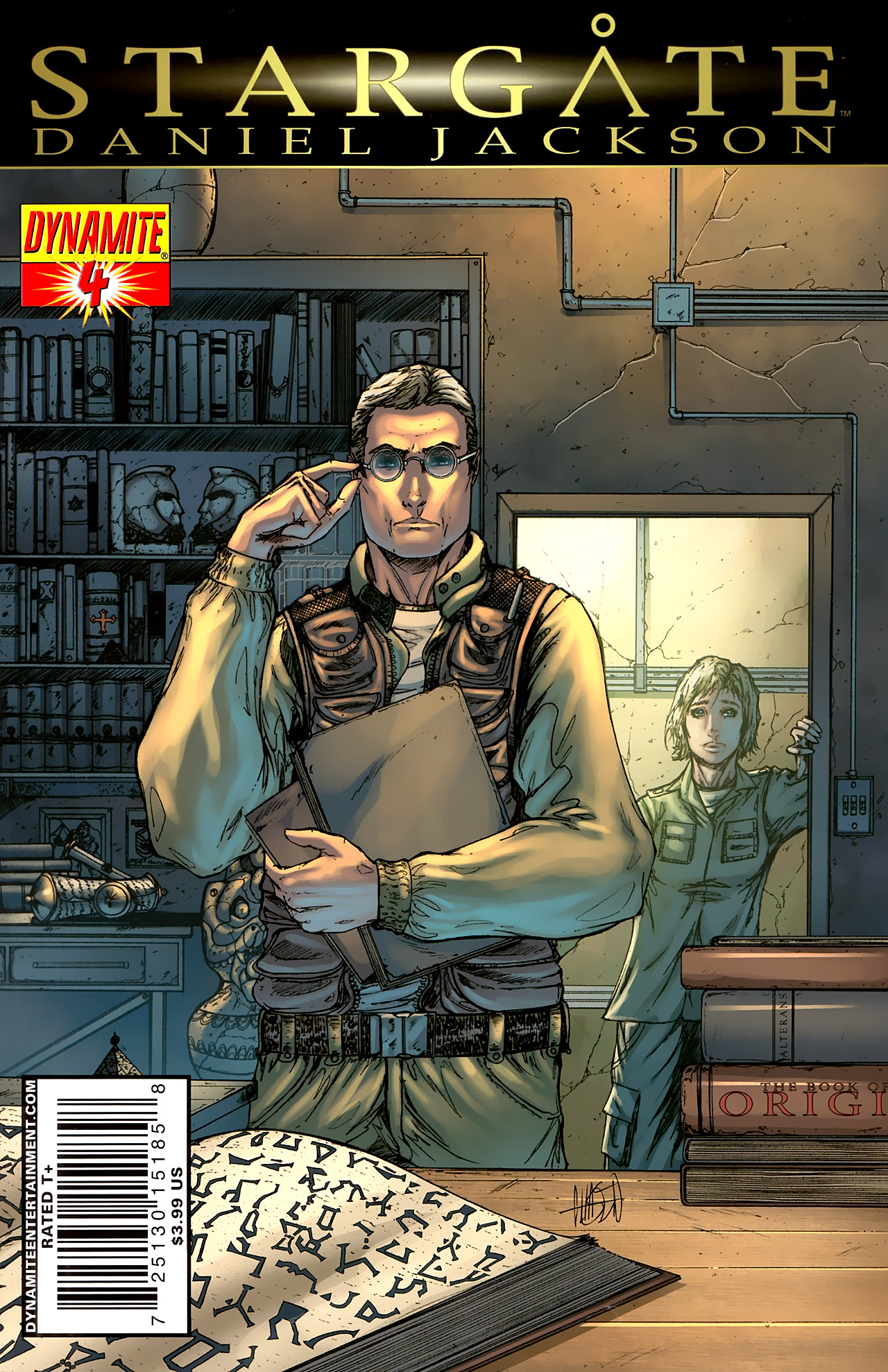 Read online Stargate: Daniel Jackson comic -  Issue #4 - 1
