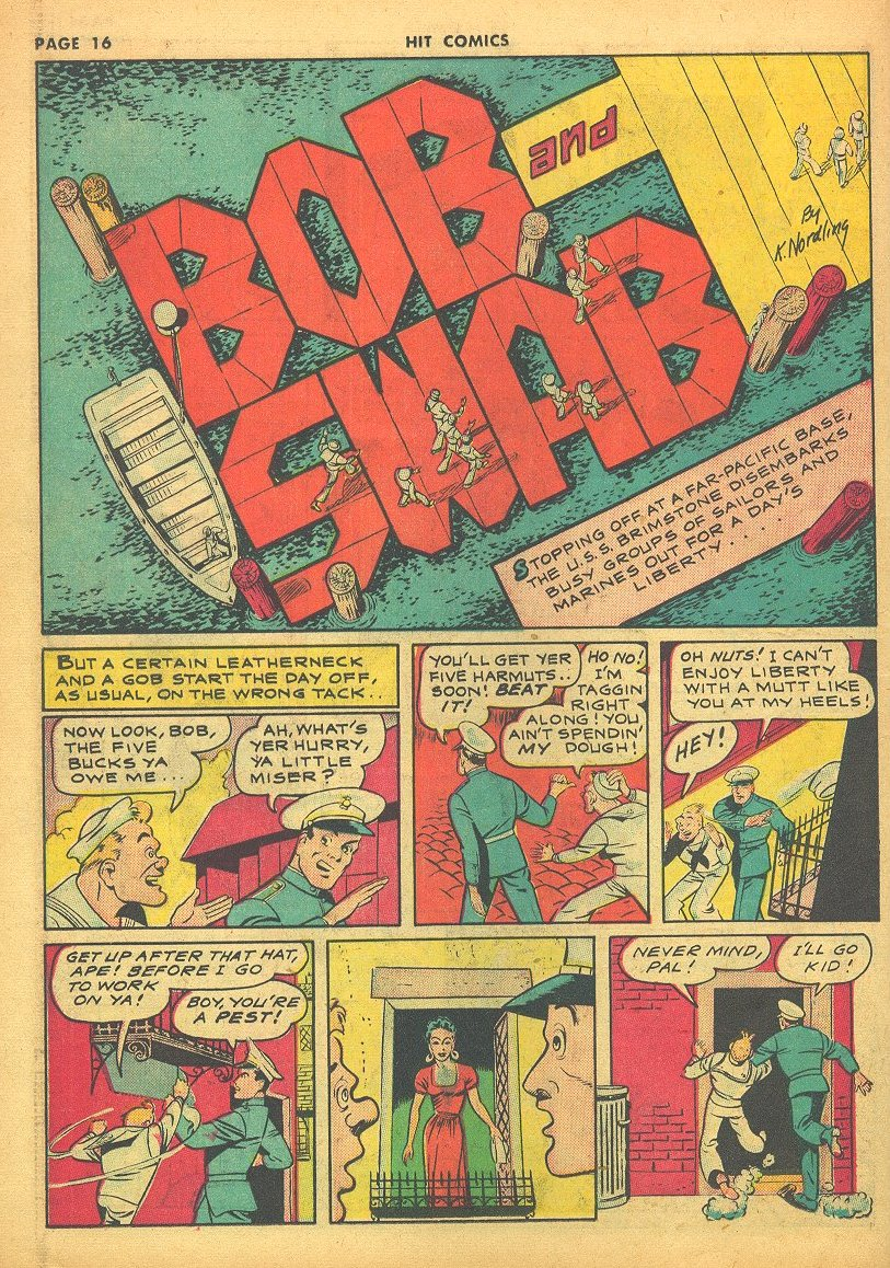Read online Hit Comics comic -  Issue #24 - 18