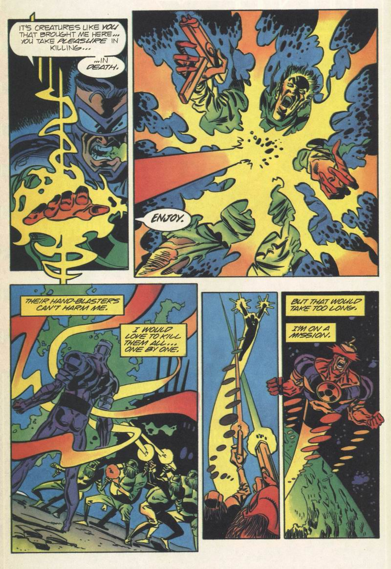 Read online Solar, Man of the Atom comic -  Issue #35 - 6