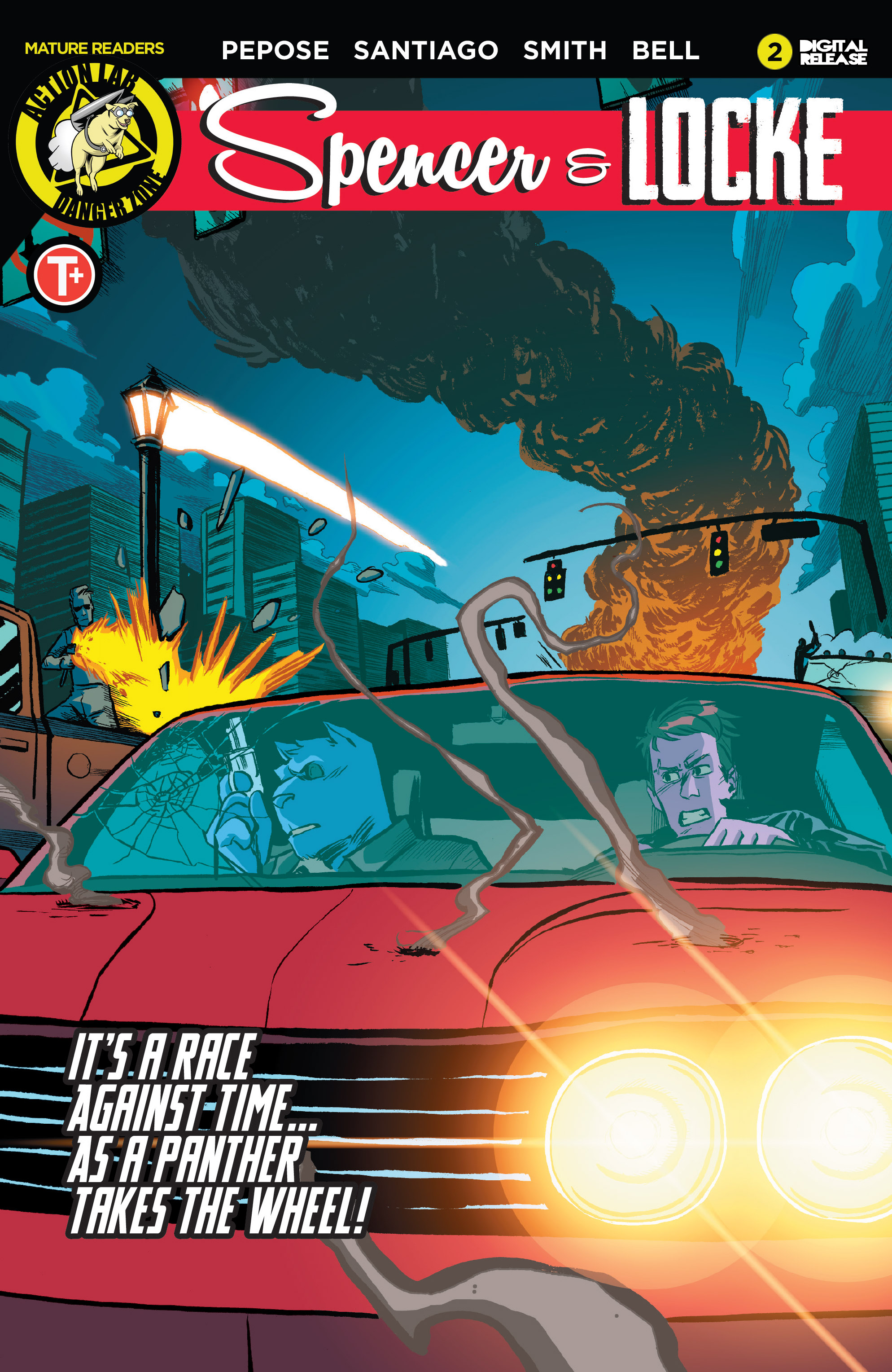 Read online Spencer & Locke comic -  Issue #2 - 1
