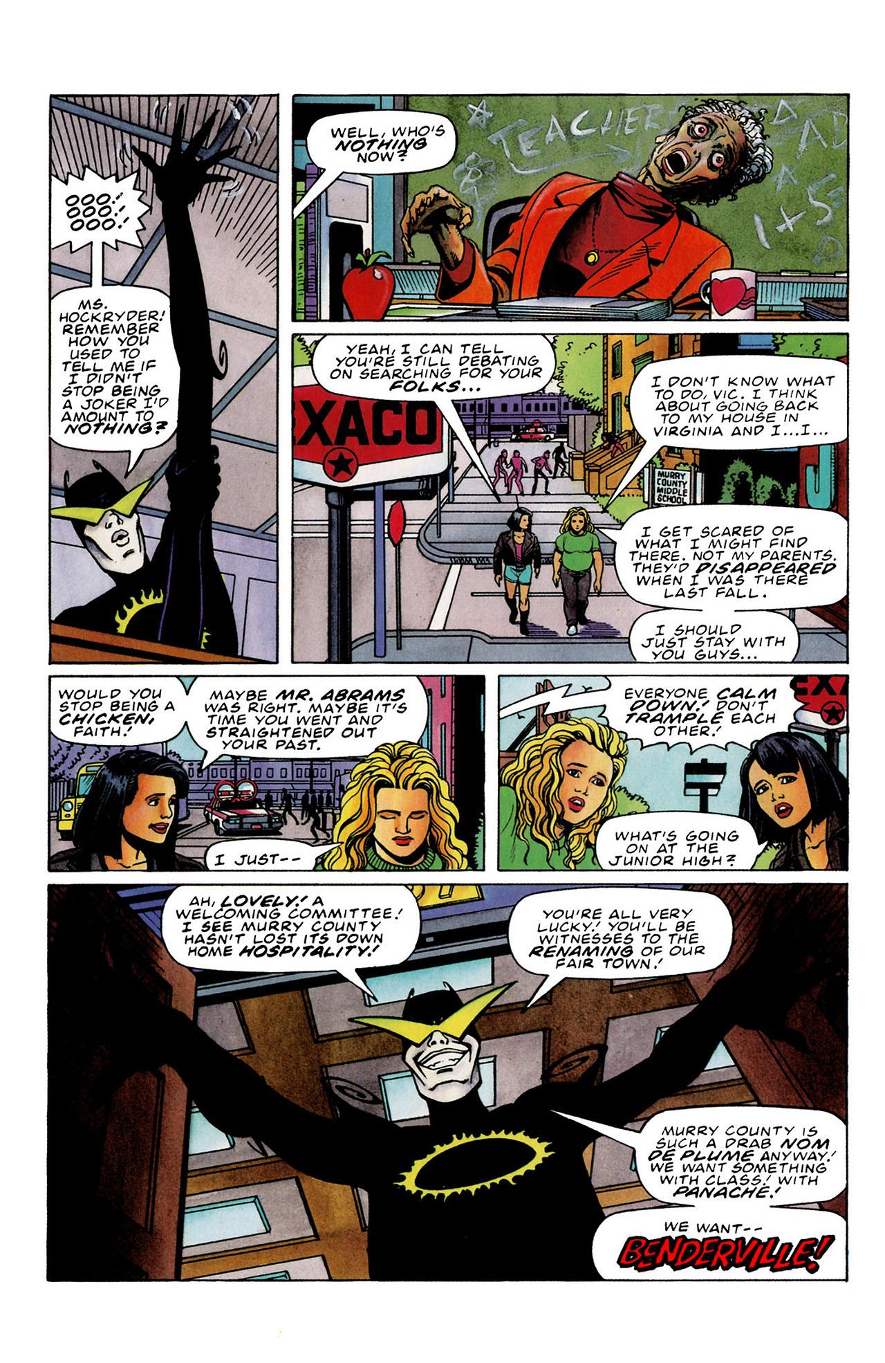 Read online Harbinger (1992) comic -  Issue #33 - 8