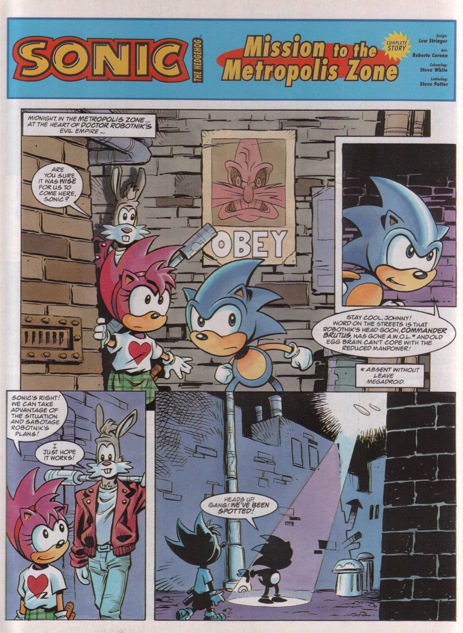 Read online Sonic the Comic comic -  Issue #74 - 3