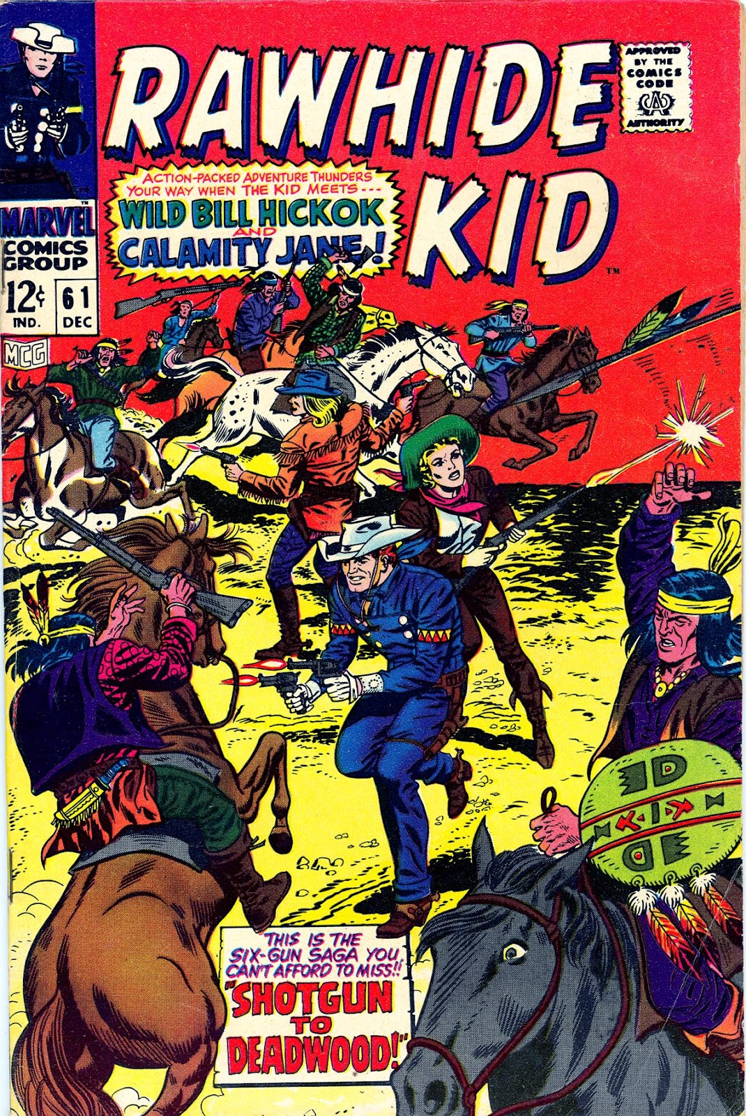 The Rawhide Kid (1955) issue 61 - Page 1