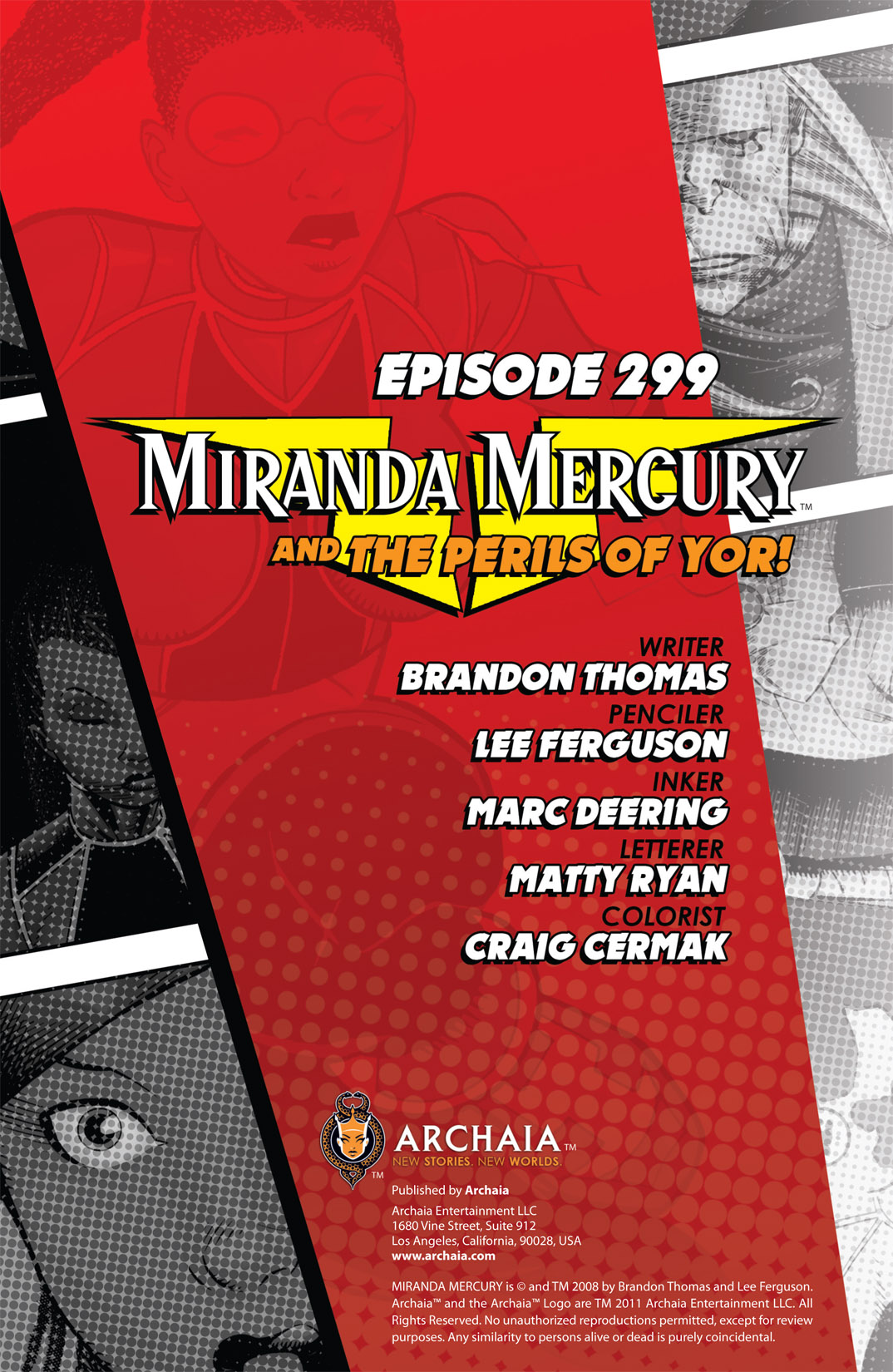 Read online The Many Adventures of Miranda Mercury: Time Runs Out comic -  Issue # TPB - 117