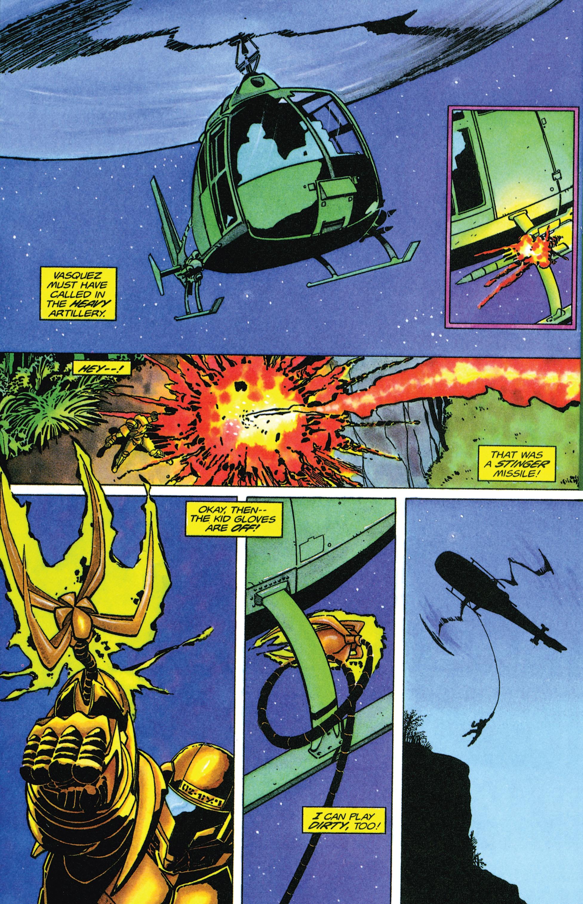 Read online Armorines comic -  Issue #9 - 19