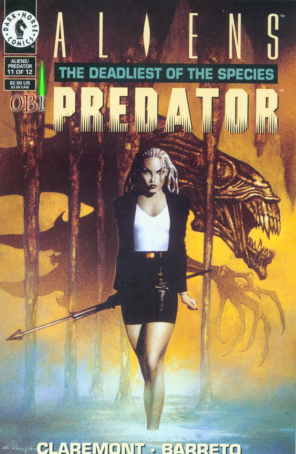 Read online Aliens/Predator: The Deadliest of the Species comic -  Issue #11 - 1