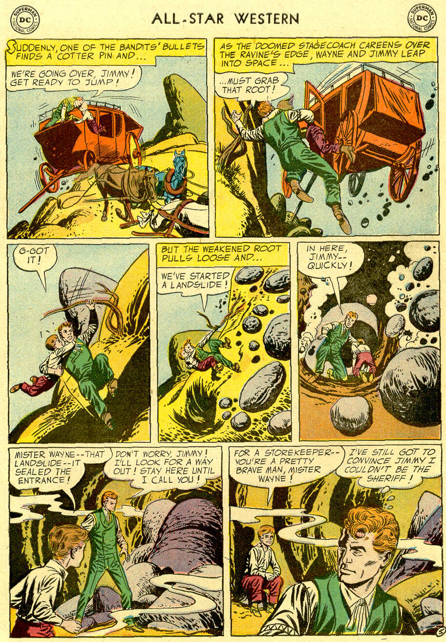 Read online All-Star Western (1951) comic -  Issue #83 - 7