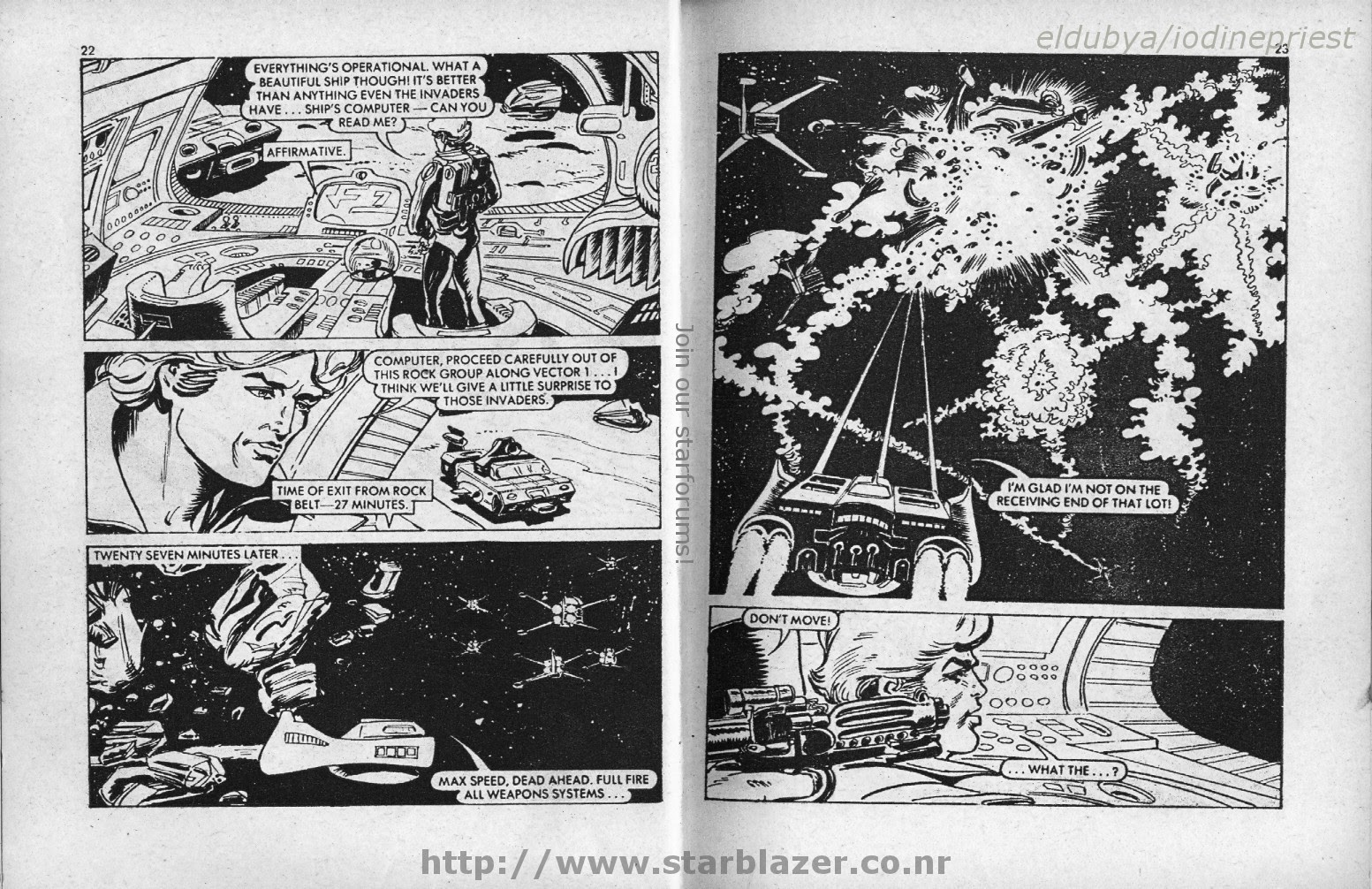 Starblazer issue 33 - Page 13